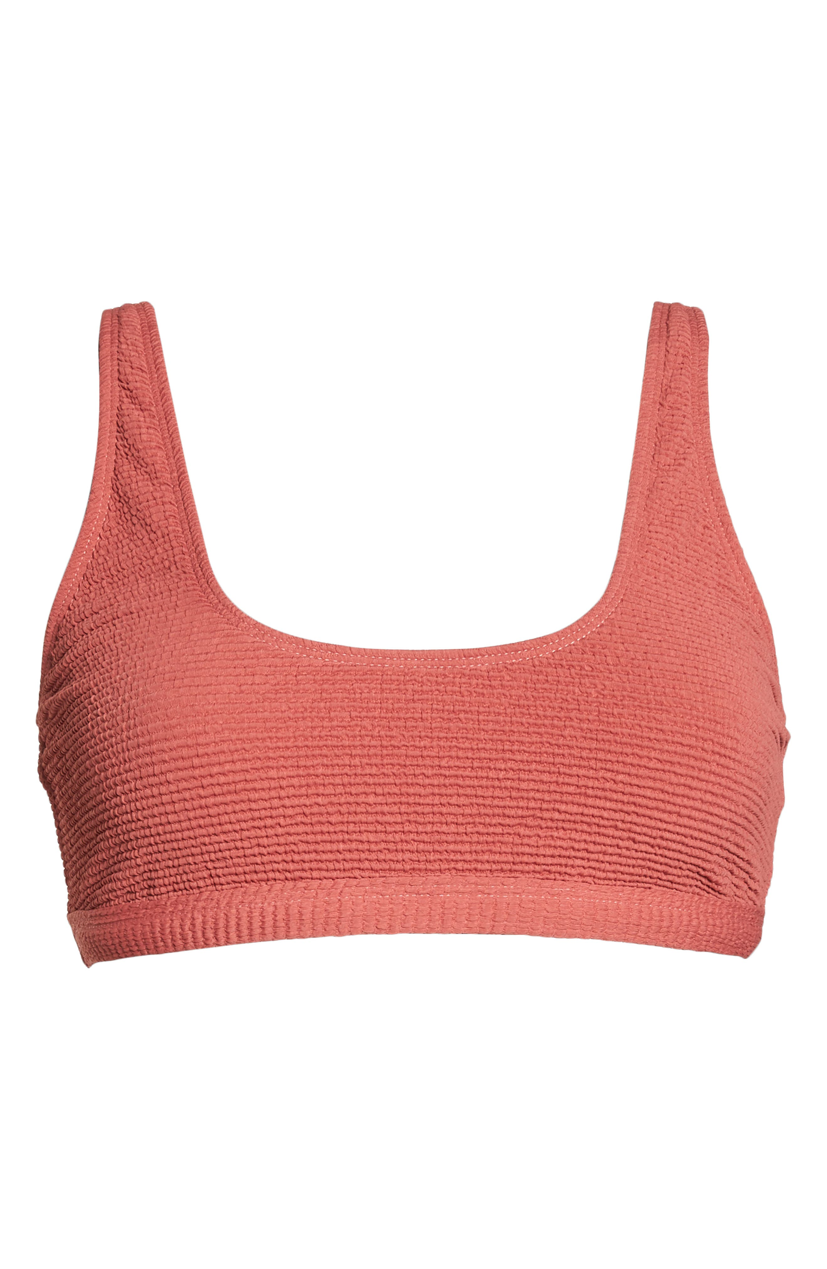 Malibu Bikini Top,                             Alternate thumbnail 6, color,                             RED MINERAL