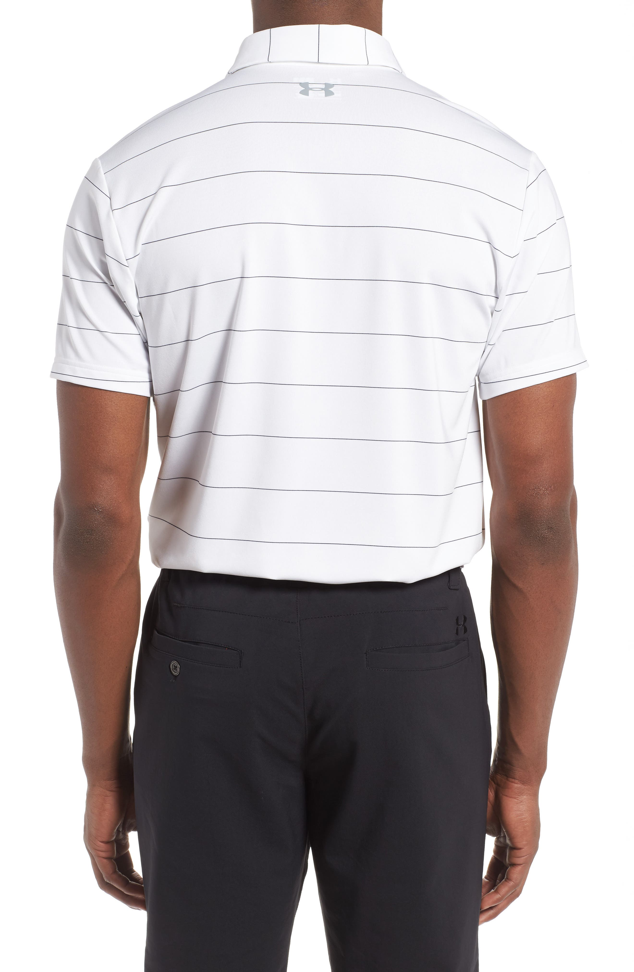 'Playoff' Loose Fit Short Sleeve Polo,                             Alternate thumbnail 77, color,