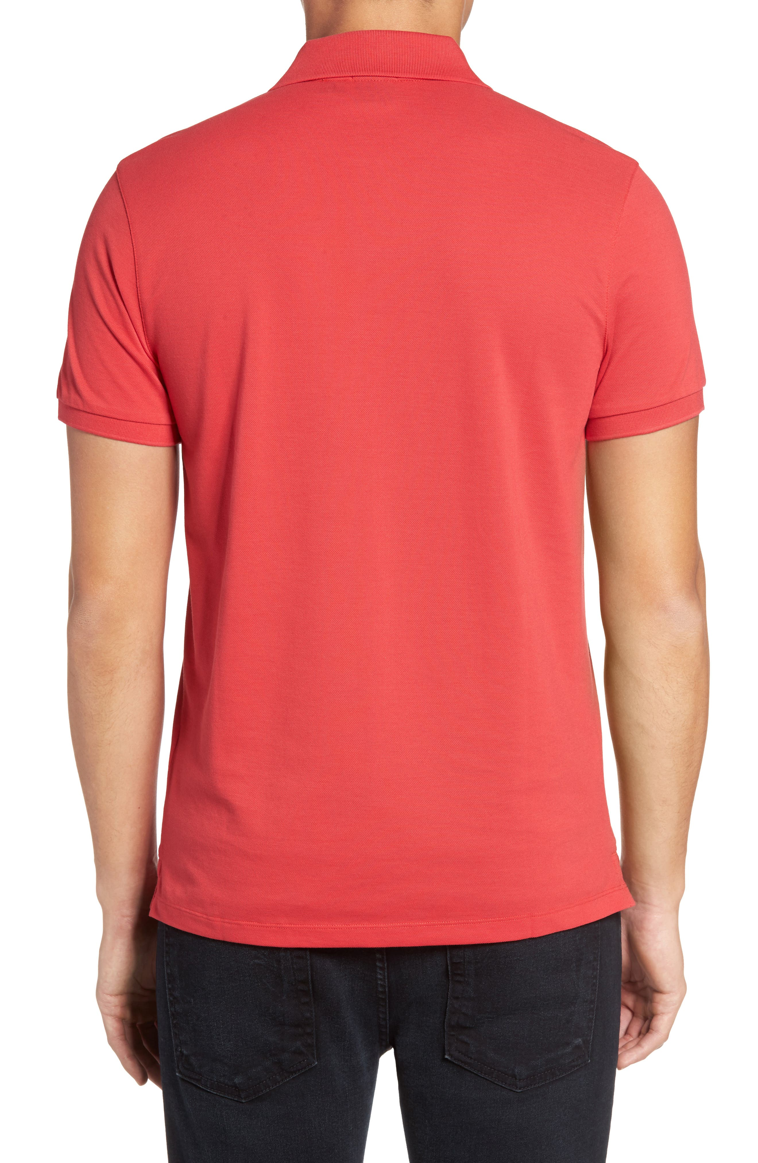 'Pallas' Regular Fit Logo Embroidered Polo Shirt,                             Alternate thumbnail 32, color,