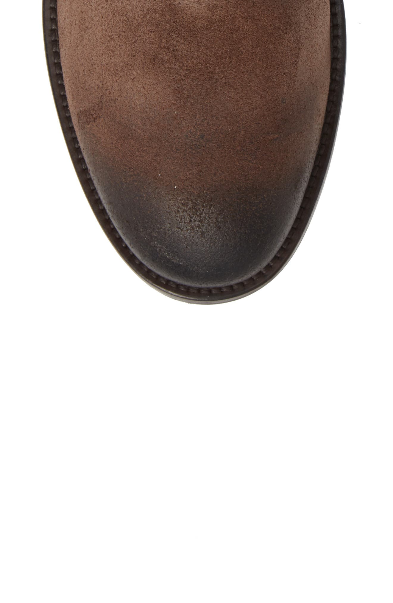 Athens Plain Toe Boot,                             Alternate thumbnail 5, color,                             TMORO SUEDE/ LEATHER