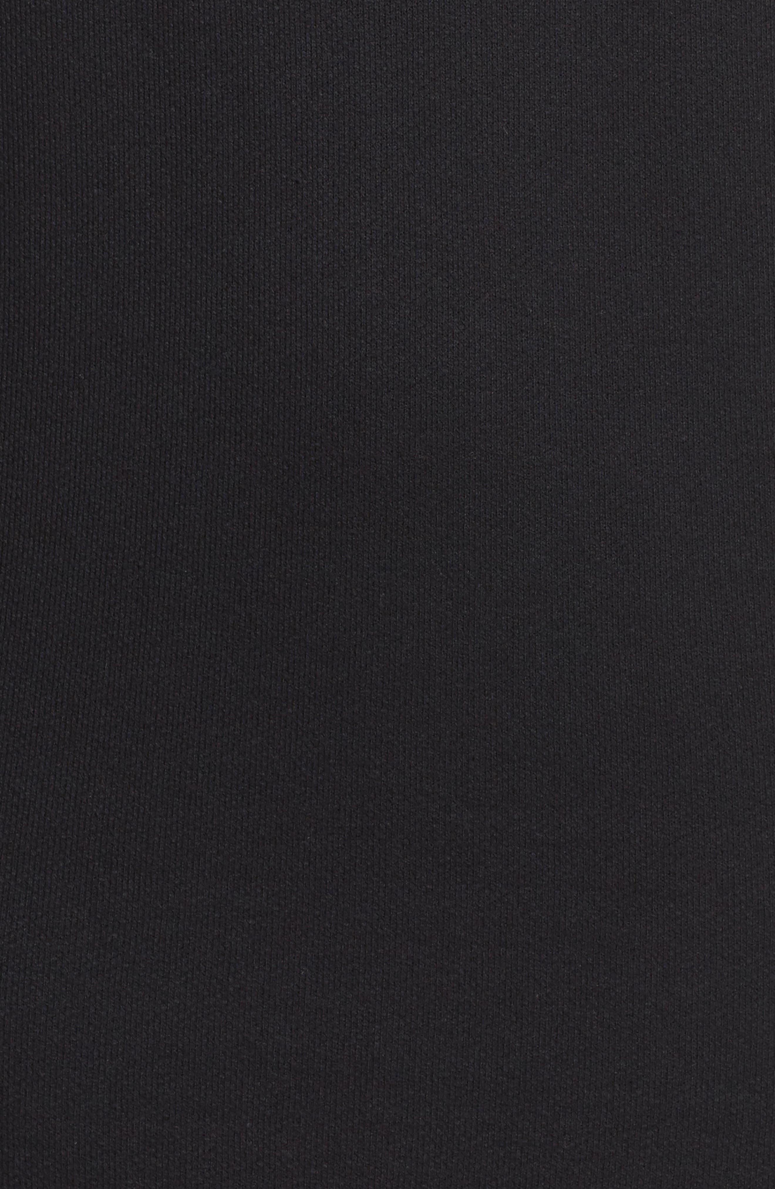FILA,                             Courtney Sweatshirt Dress,                             Alternate thumbnail 6, color,                             001