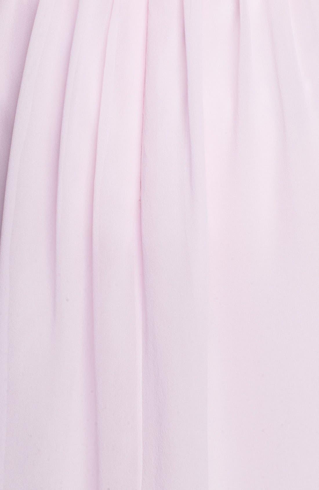 'Morgan' Strapless Silk Chiffon Dress,                             Main thumbnail 35, color,