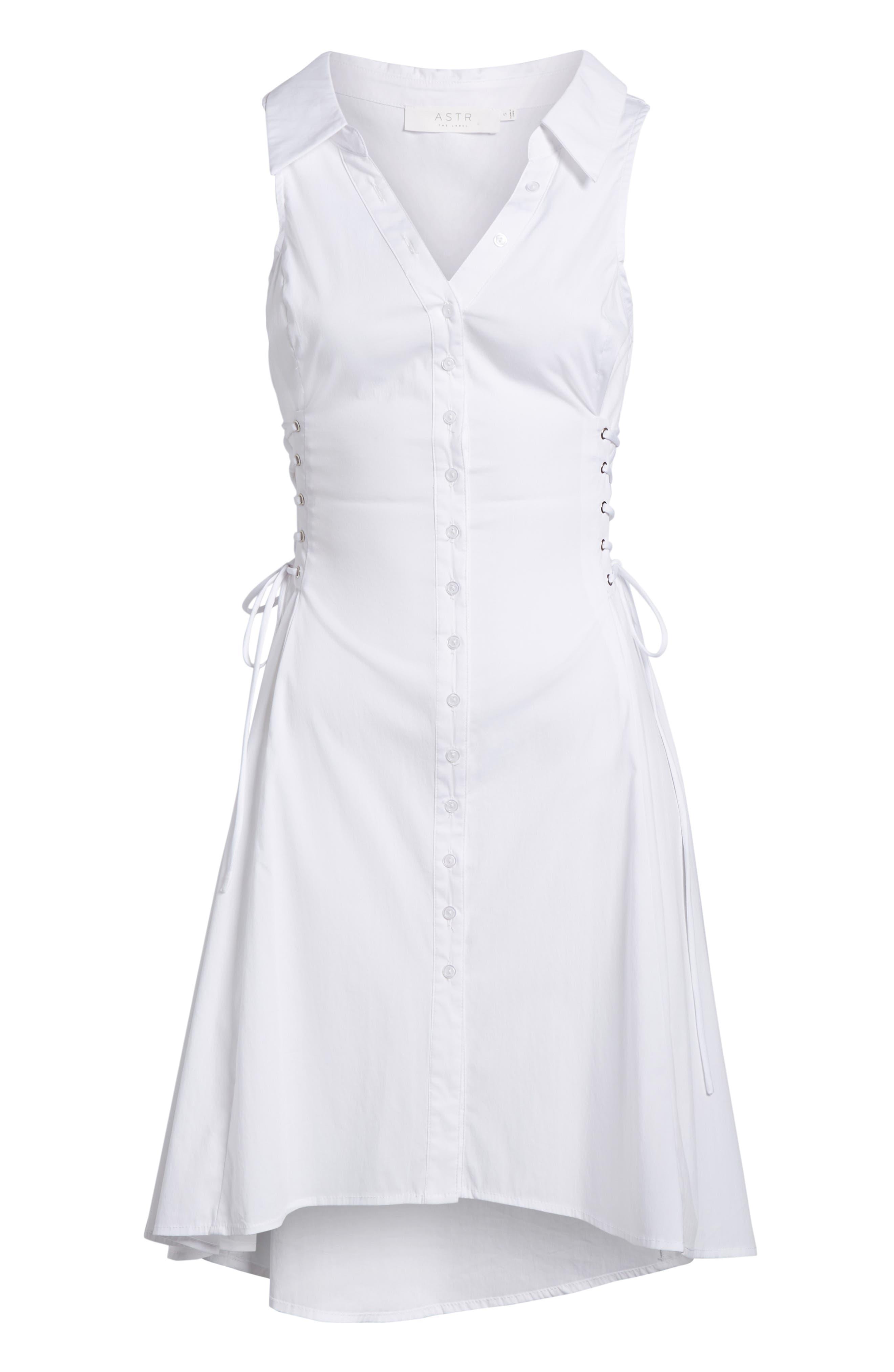Sydney Lace Side Dress,                             Alternate thumbnail 6, color,