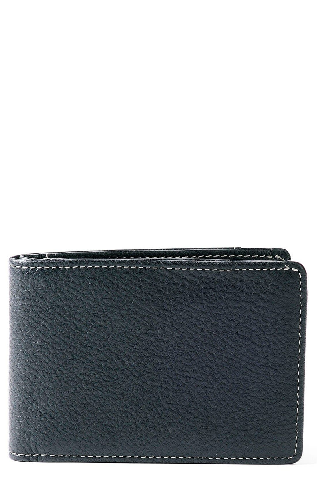 'Tyler' RFID Slimster Wallet,                         Main,                         color, BLACK