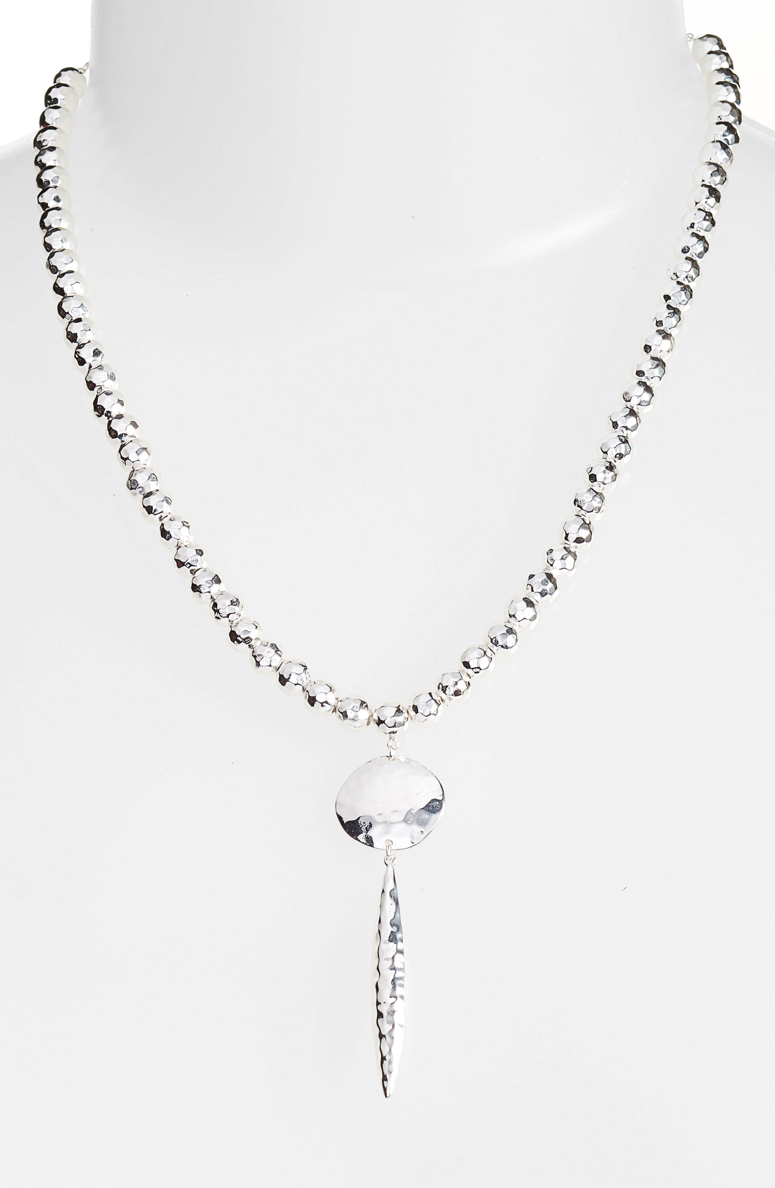 Gypset Adjustable Pendant Necklace,                         Main,                         color, 049