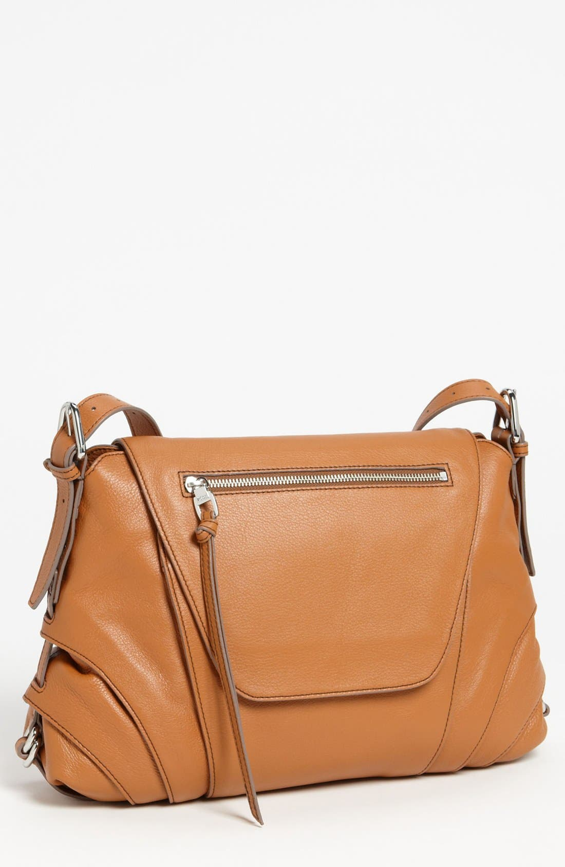 KOOBA,                             'Brielle' Leather Crossbody Bag,                             Main thumbnail 1, color,                             210