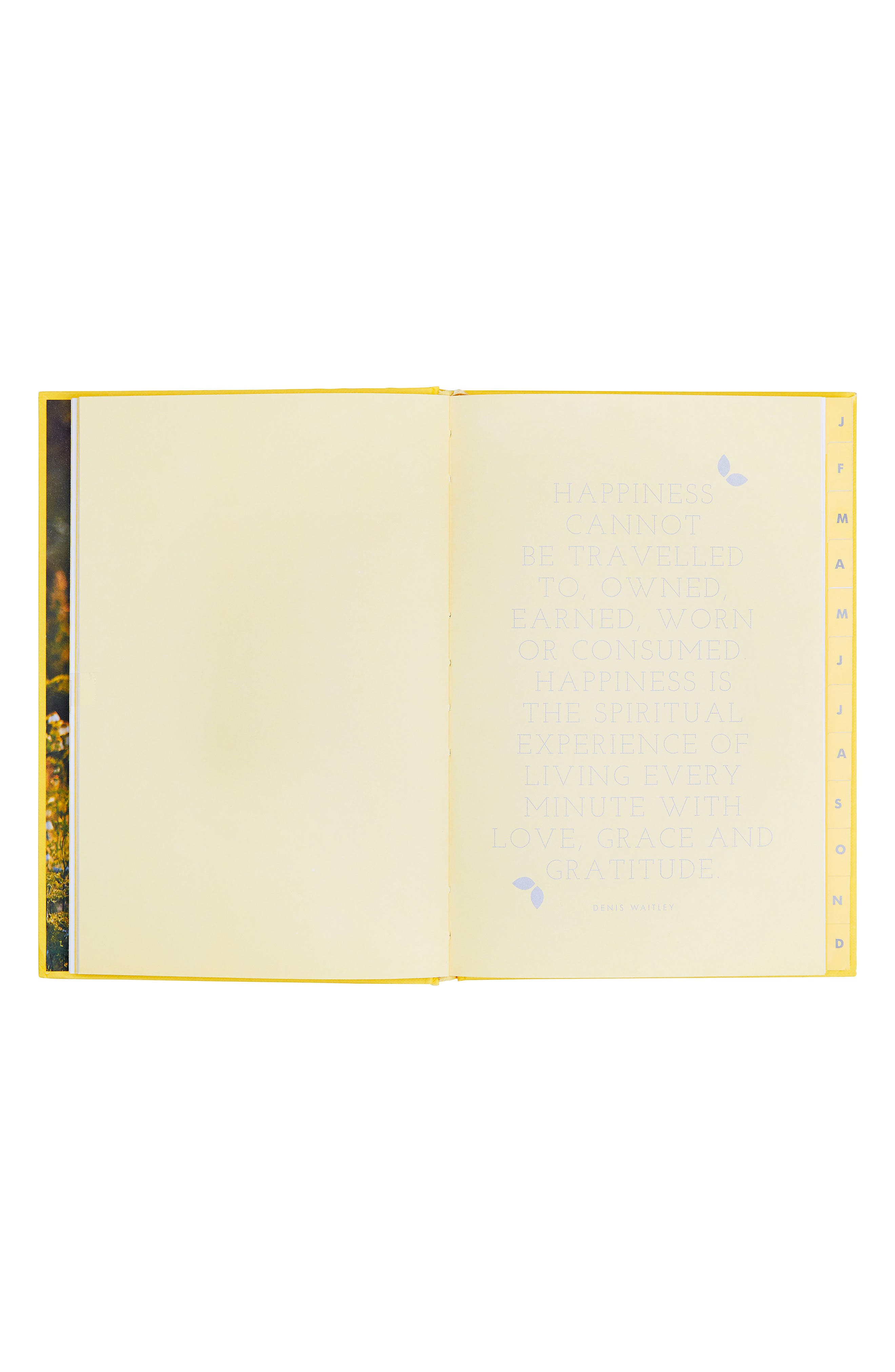 Happiness Journal,                             Alternate thumbnail 2, color,                             YELLOW