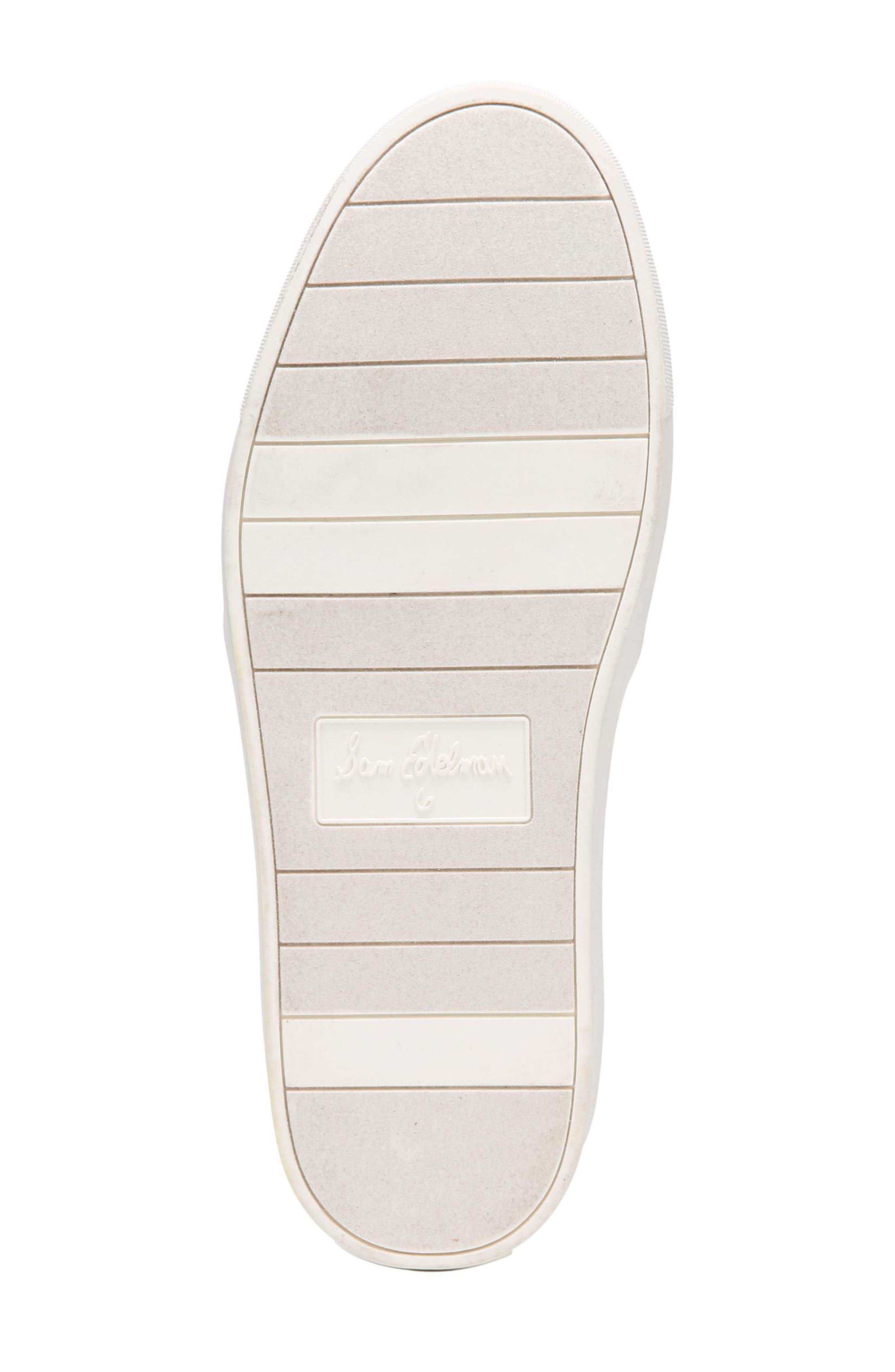 SAM EDELMAN,                             Elton Slip-On Sneaker,                             Alternate thumbnail 6, color,                             002