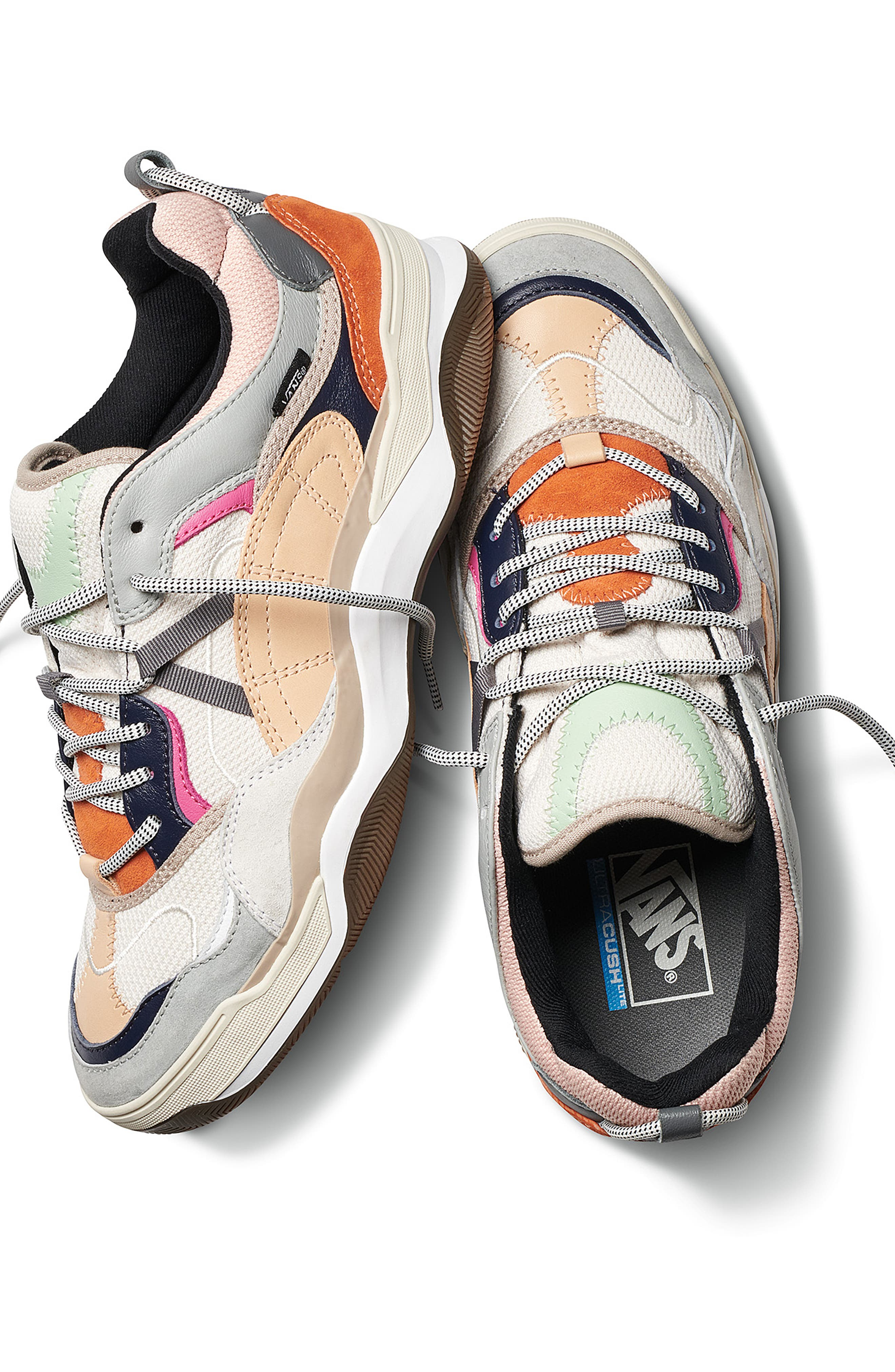 VANS,                             Varix WC Sneaker,                             Alternate thumbnail 11, color,                             TURTLEDOVE/ TRUE WHITE LEATHER