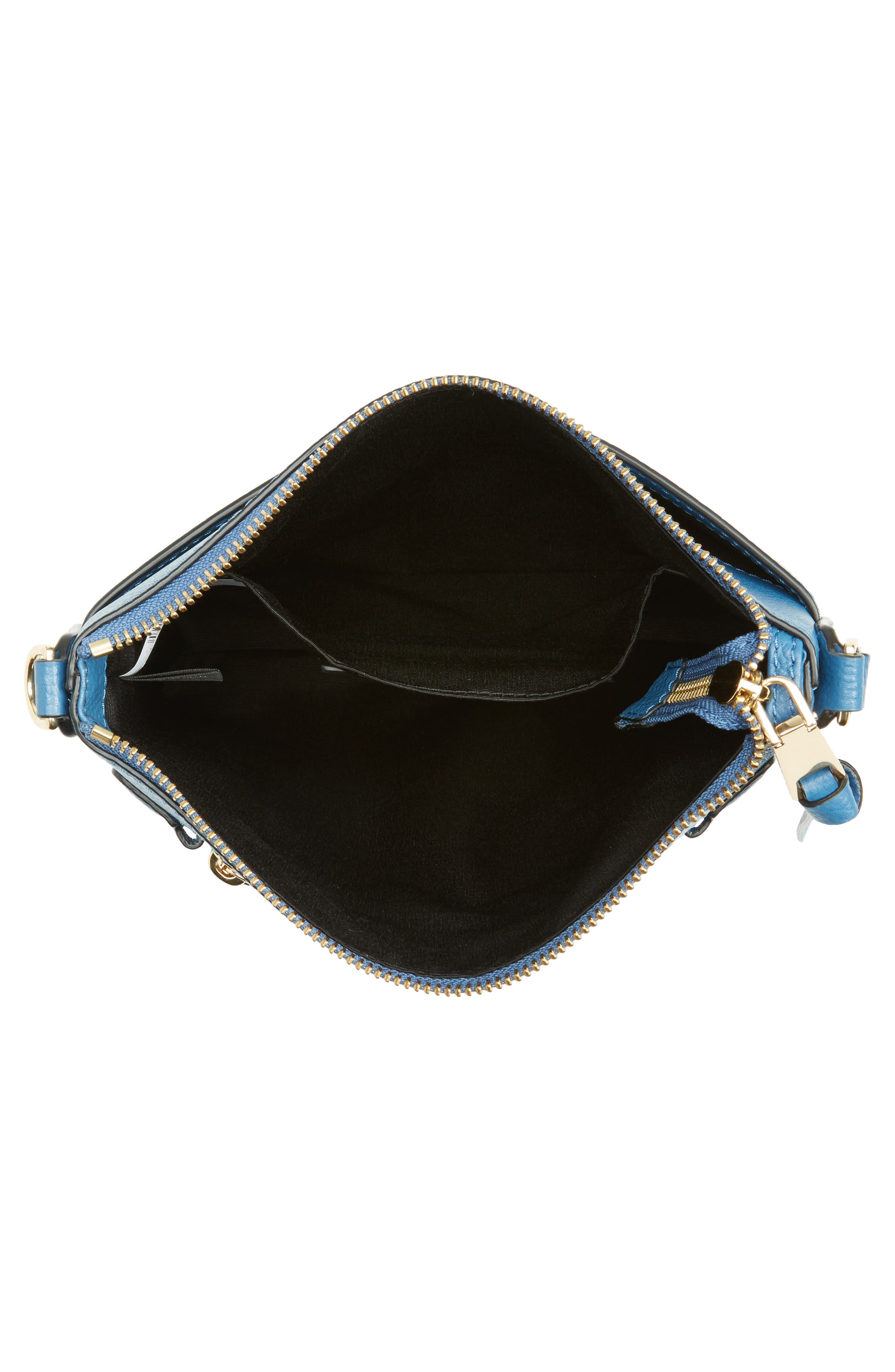 Recruit North/South Leather Crossbody Bag,                             Alternate thumbnail 4, color,                             476