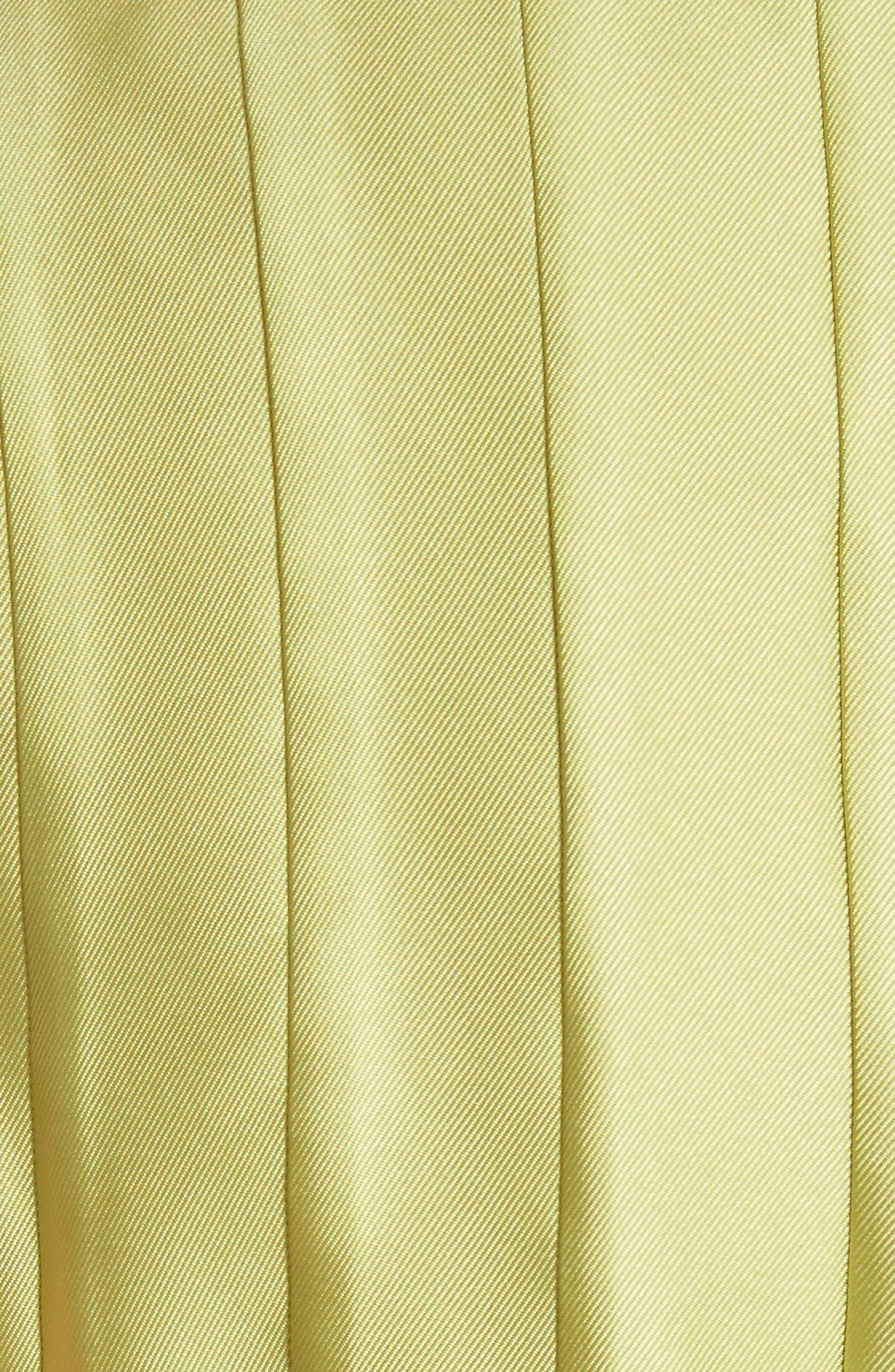 Bow Neck Skater Dress,                             Alternate thumbnail 9, color,
