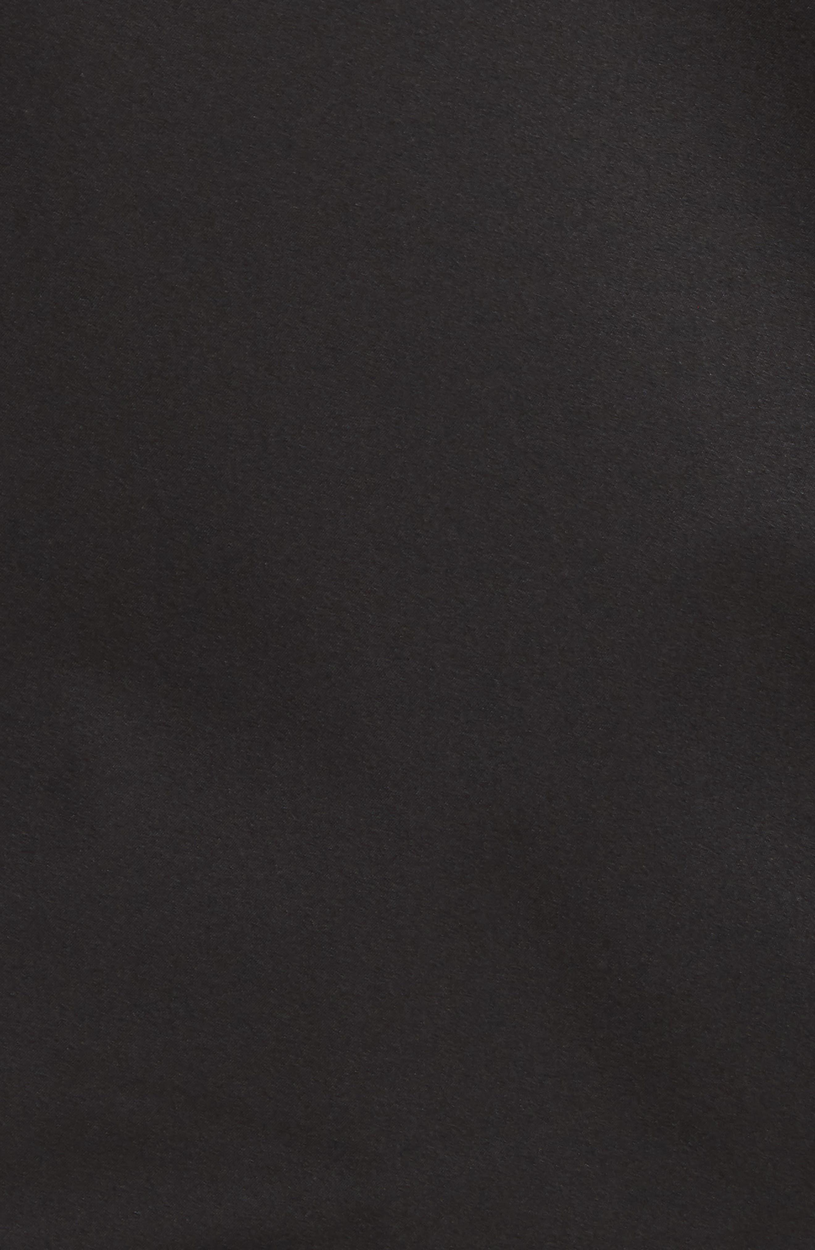 Packable Water Resistant Jacket,                             Alternate thumbnail 6, color,                             BLACK