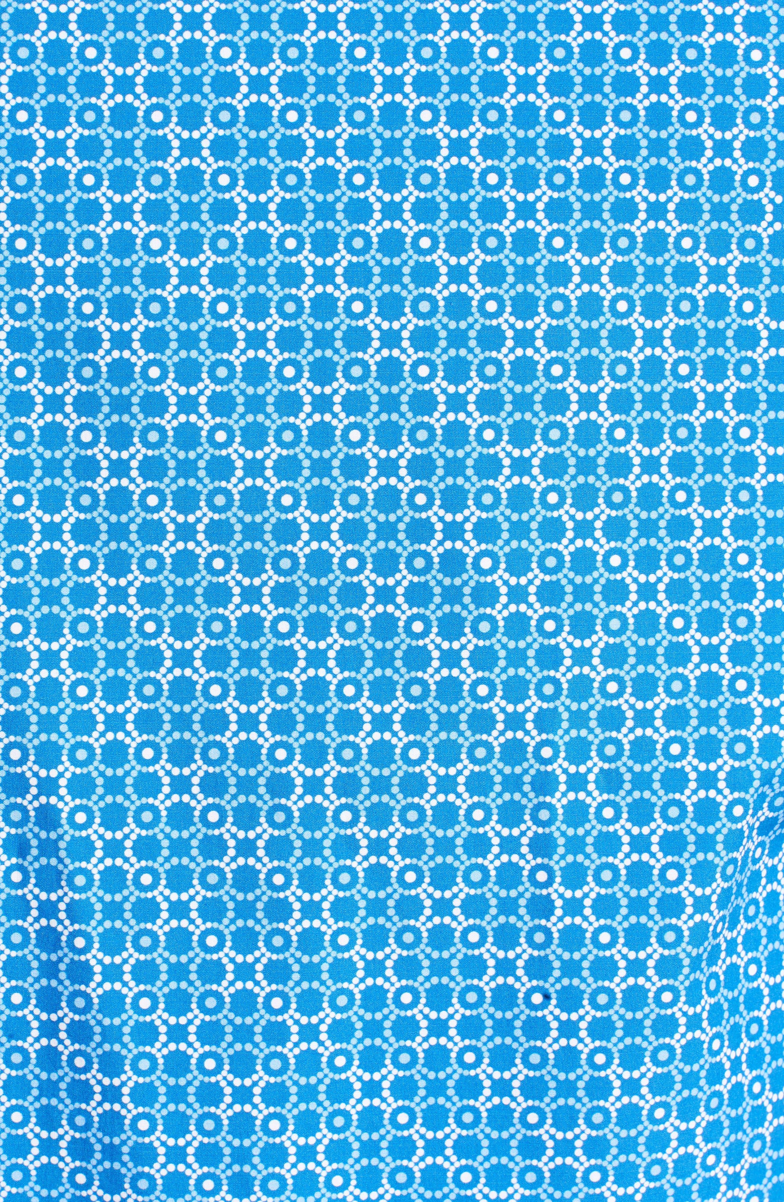 Classic Fit Circle Grid Sport Shirt,                             Alternate thumbnail 5, color,                             422