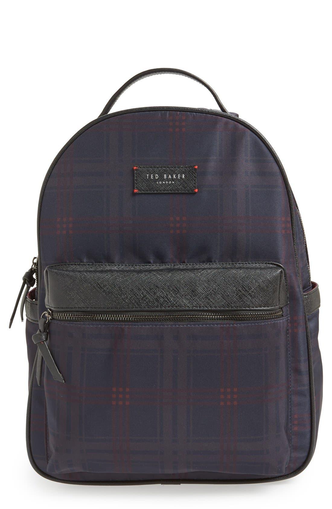 TED BAKER LONDON,                             'Amilio' Backpack,                             Main thumbnail 1, color,                             410