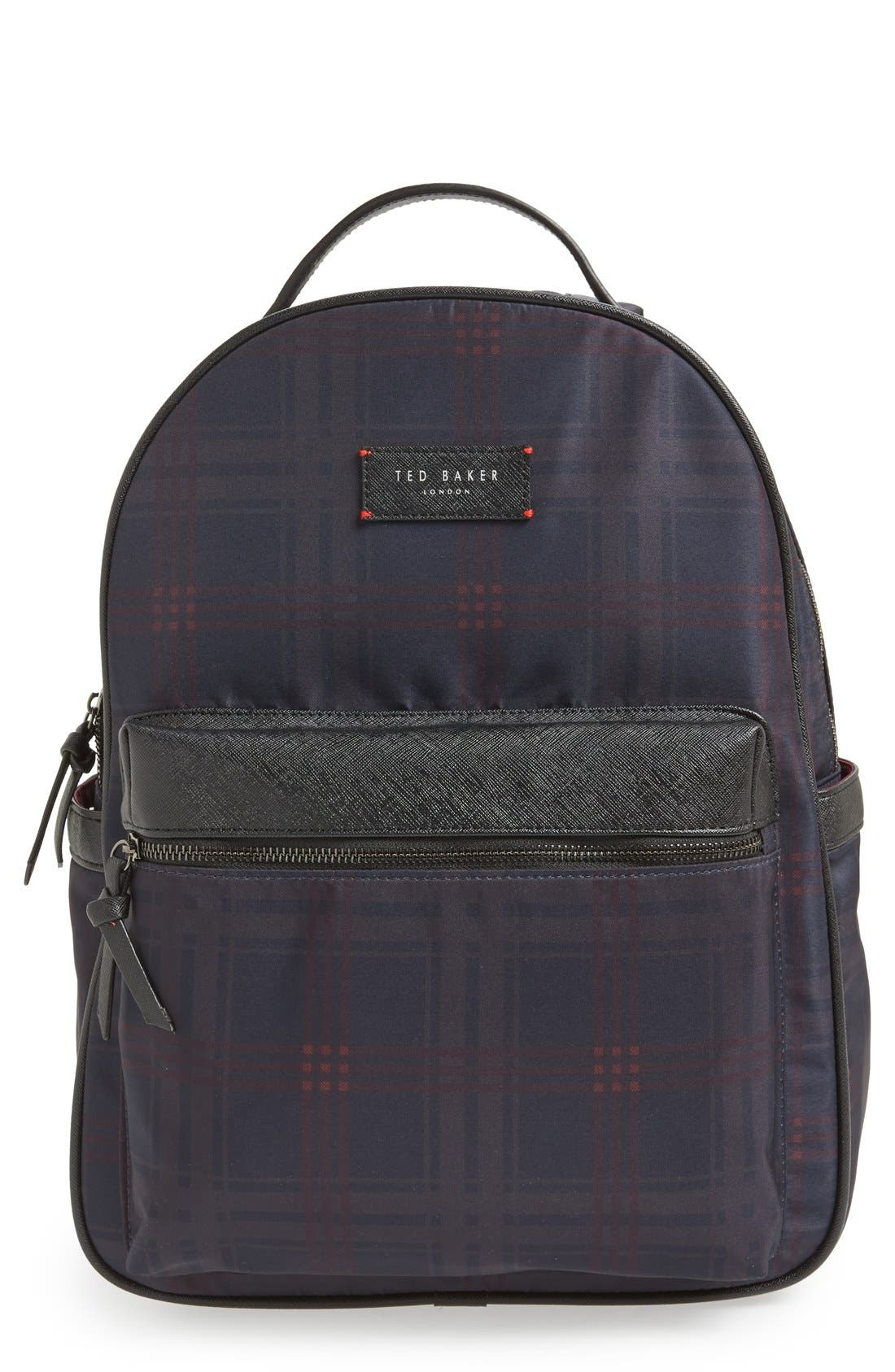 TED BAKER LONDON 'Amilio' Backpack, Main, color, 410