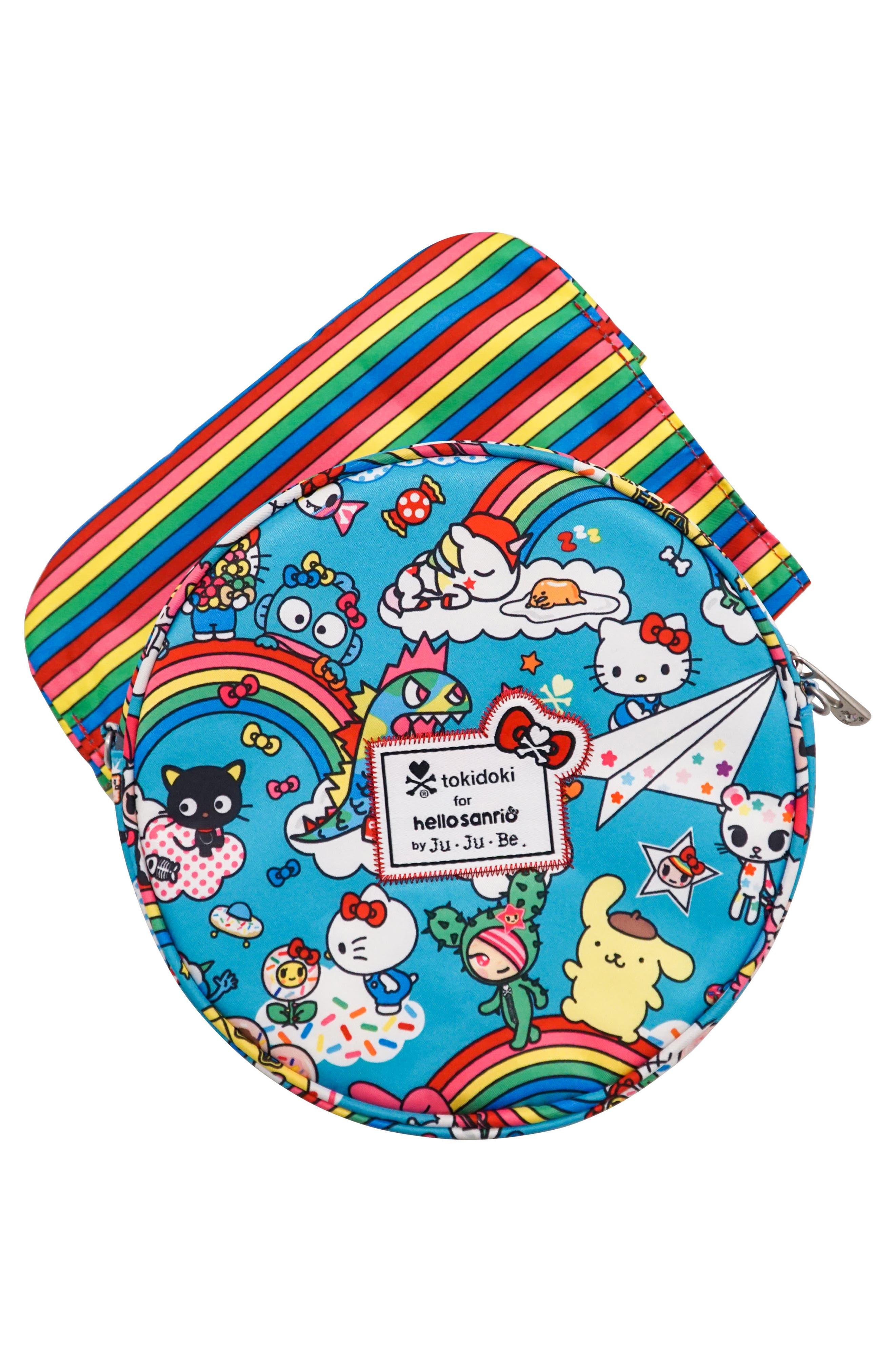 x tokidoki for Hello Sanrio Rainbow Dreams Be Bop Mini Bag,                             Alternate thumbnail 2, color,                             433