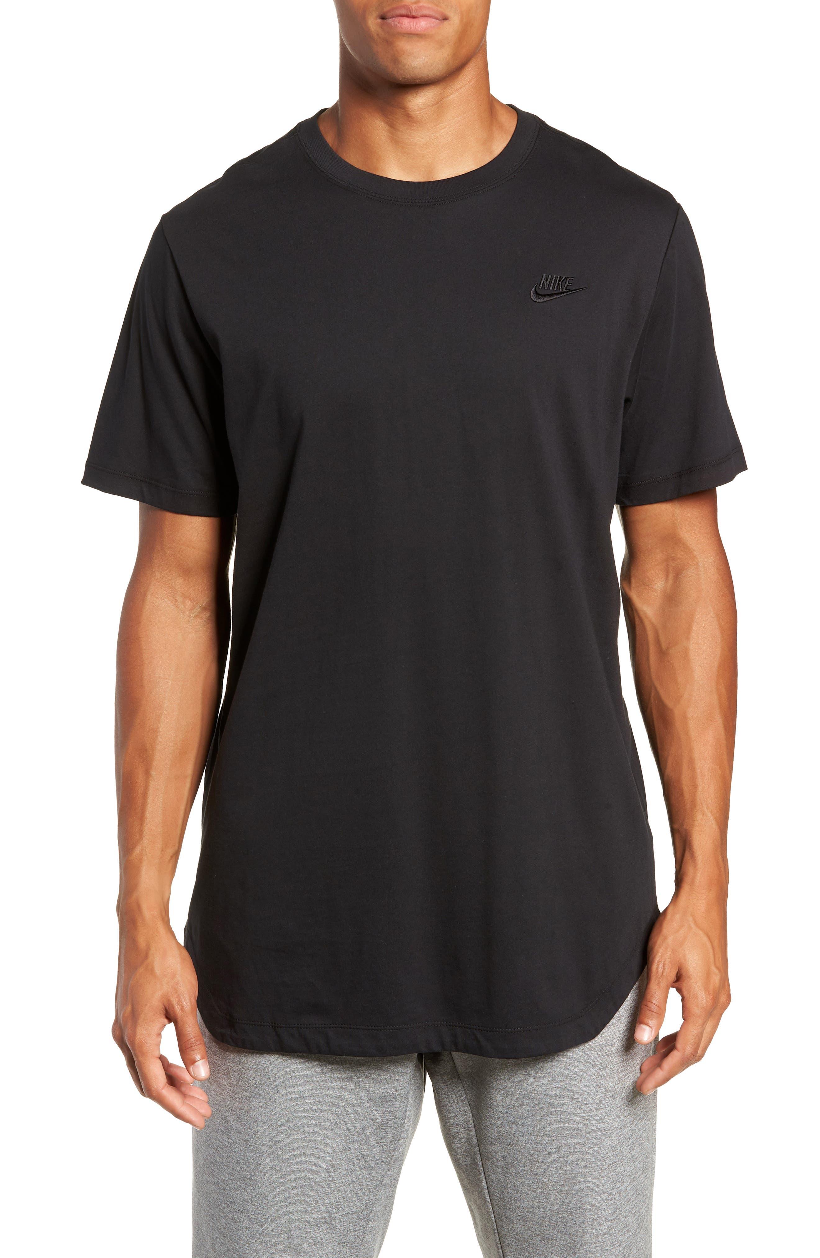 NSW Futura T-Shirt,                             Main thumbnail 1, color,                             BLACK/ BLACK