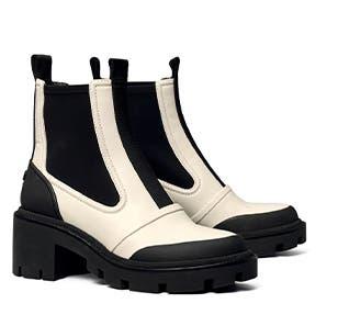 Chelsea lug-sole boots