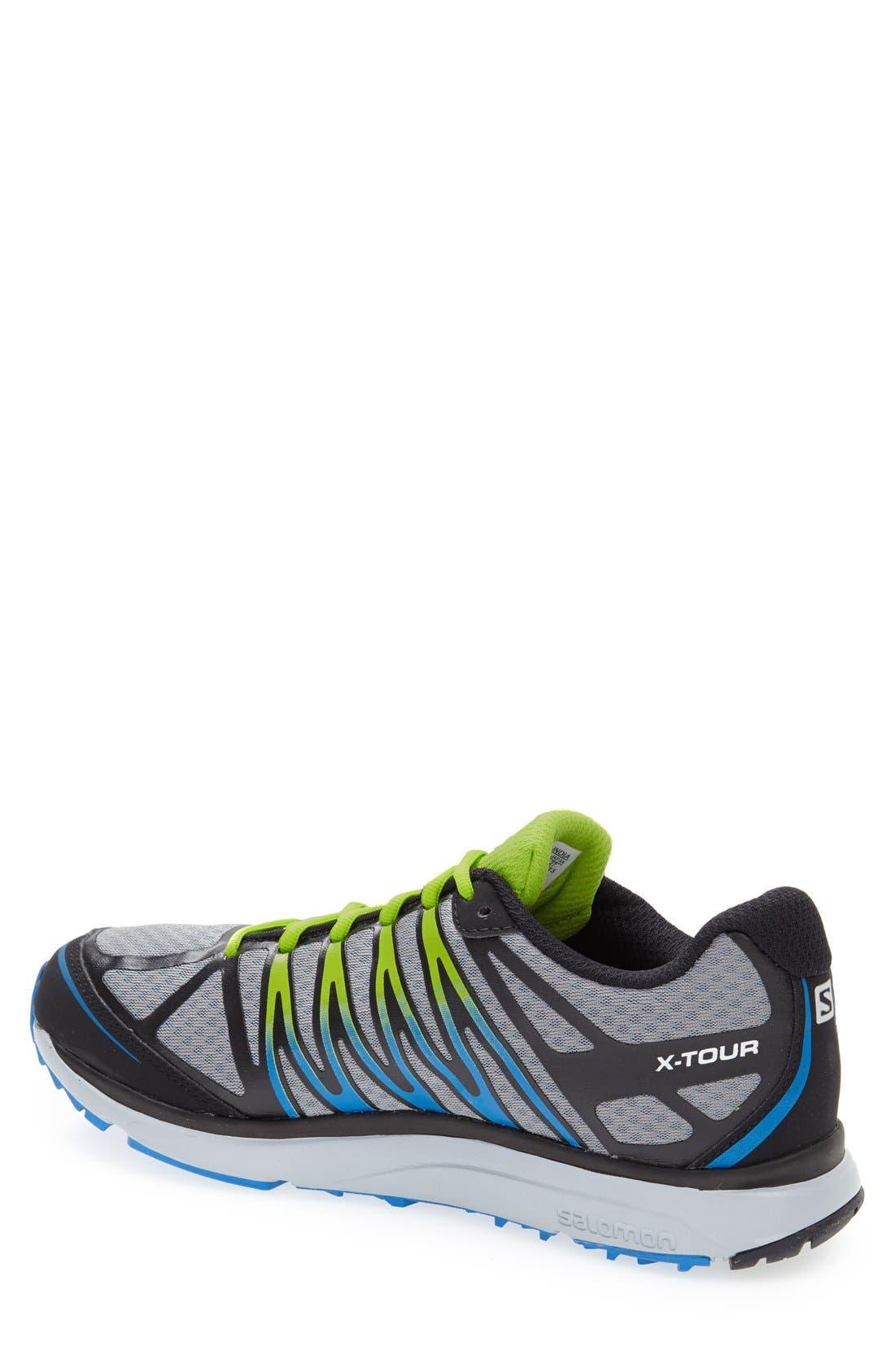 'X-Tour' Trail Running Shoe,                             Alternate thumbnail 3, color,                             030
