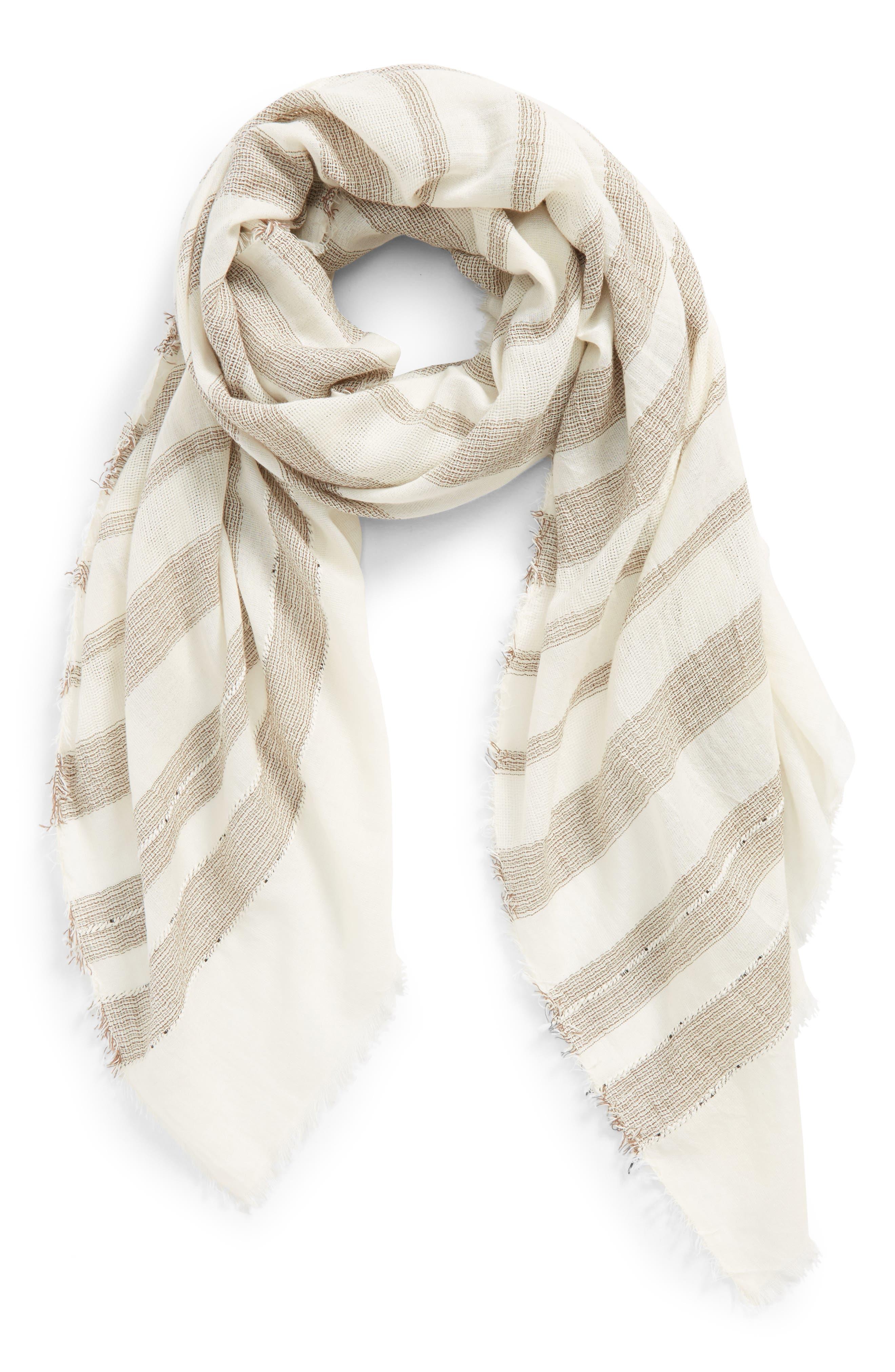Stripe Scarf,                         Main,                         color, 261
