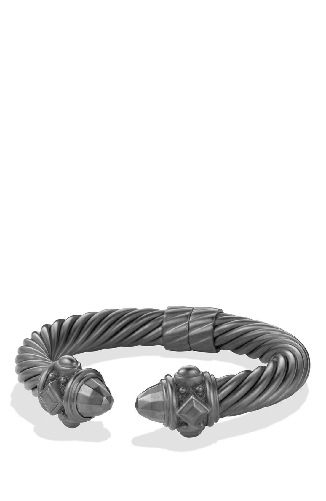 Renaissance Bracelet, 0mm,                         Main,                         color, BLACKENED SILVER