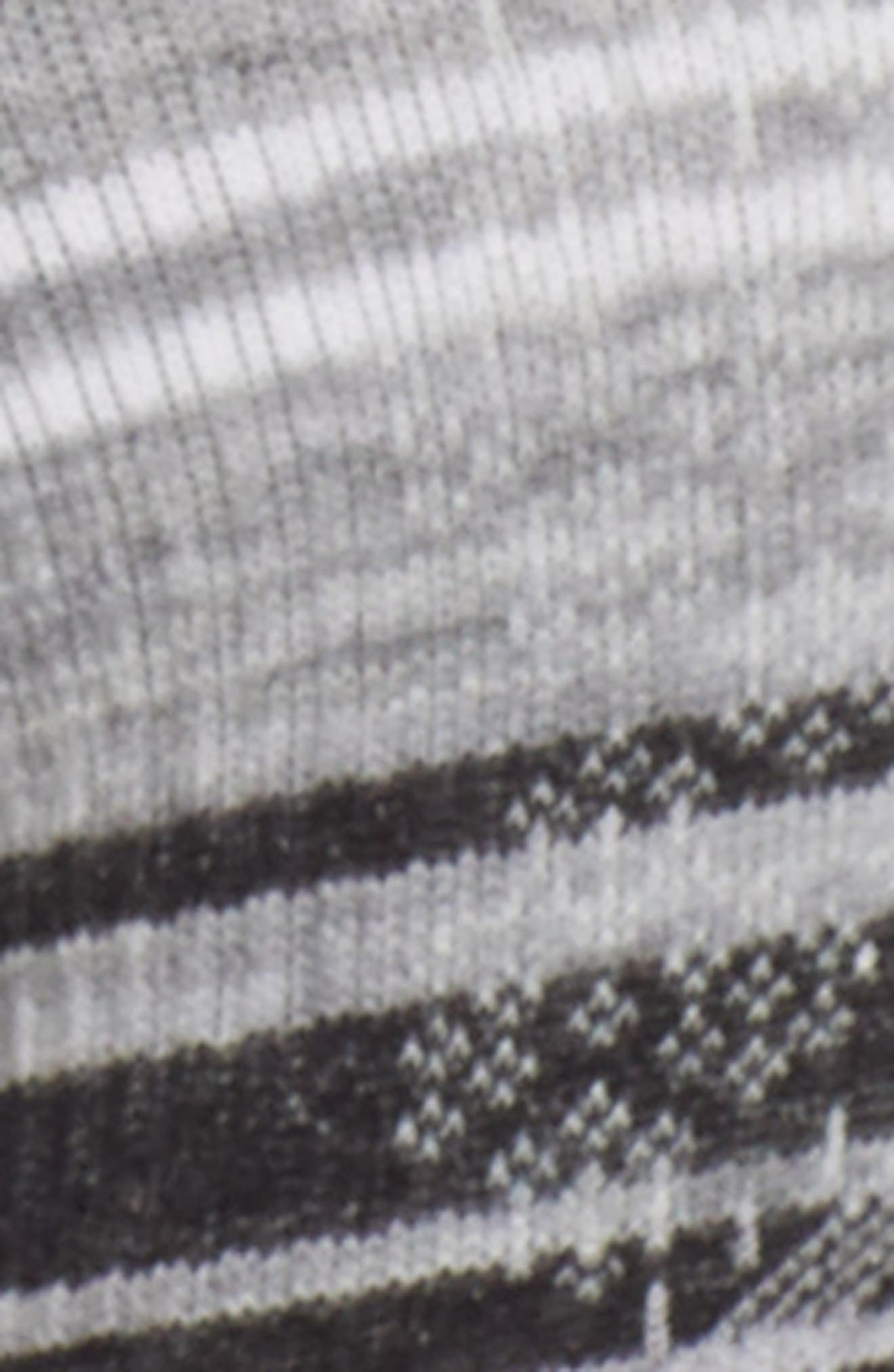 PhD<sup>®</sup> Run Light Elite Socks,                             Alternate thumbnail 2, color,                             BLACK/ LIGHT GRAY