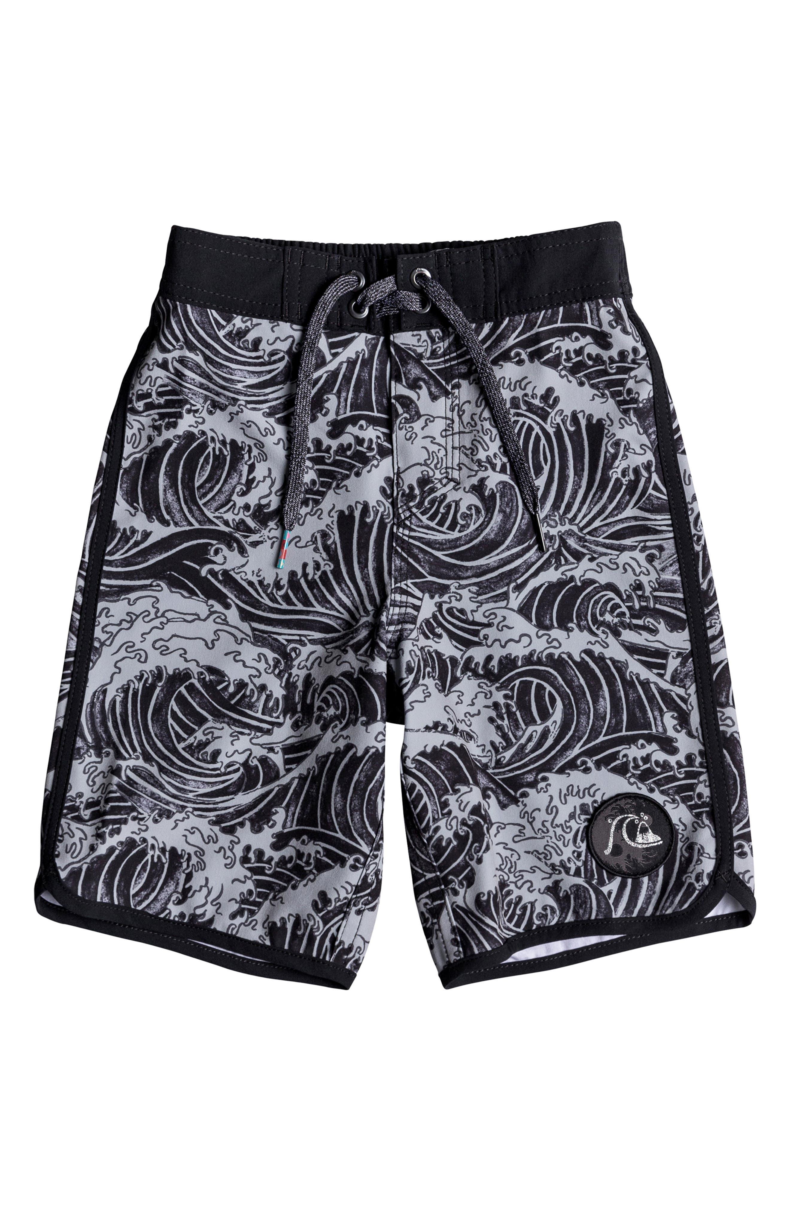 Highline Legend Board Shorts, Main, color, BLACK