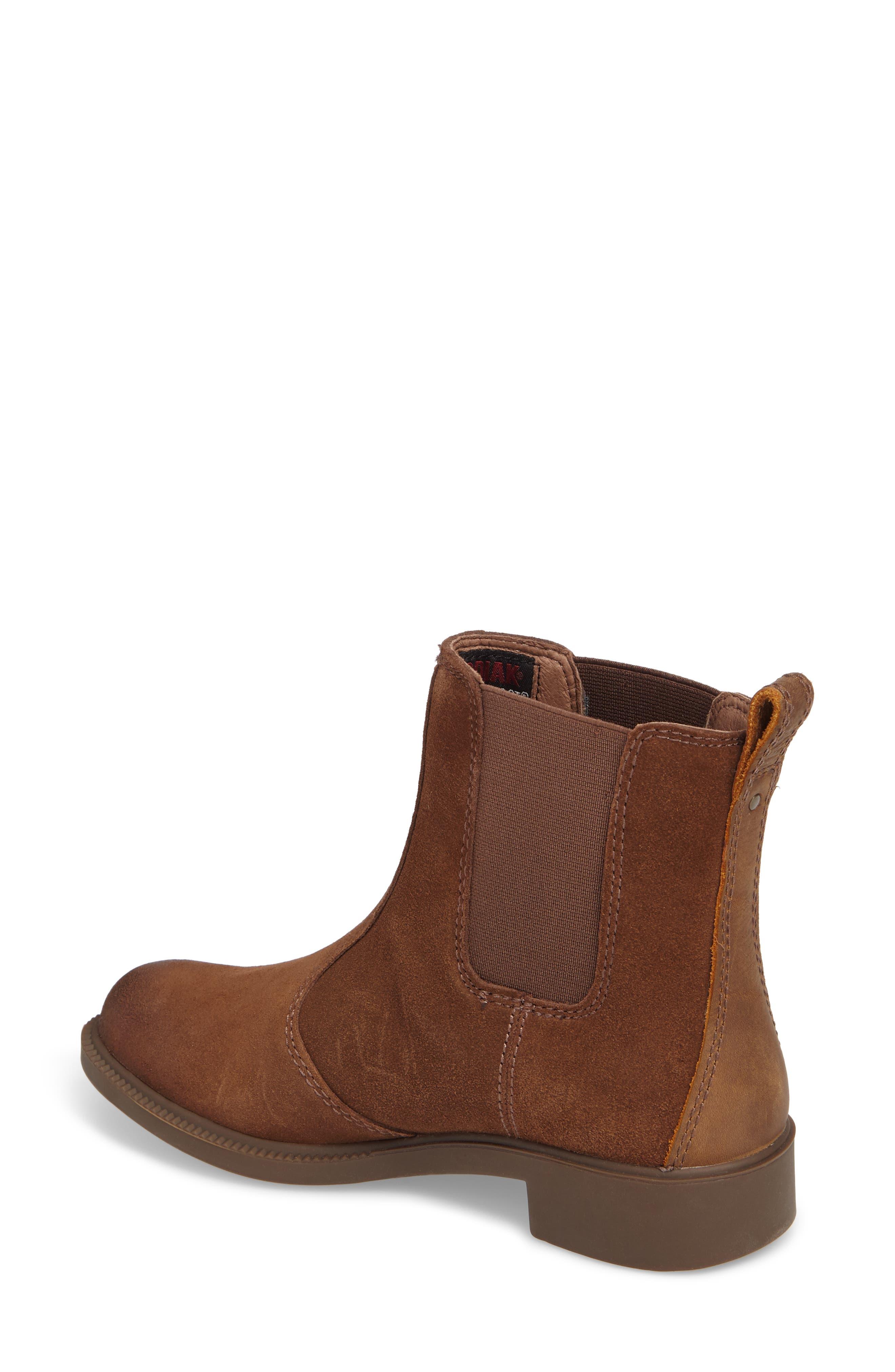 Bria Waterproof Chelsea Boot,                             Alternate thumbnail 6, color,