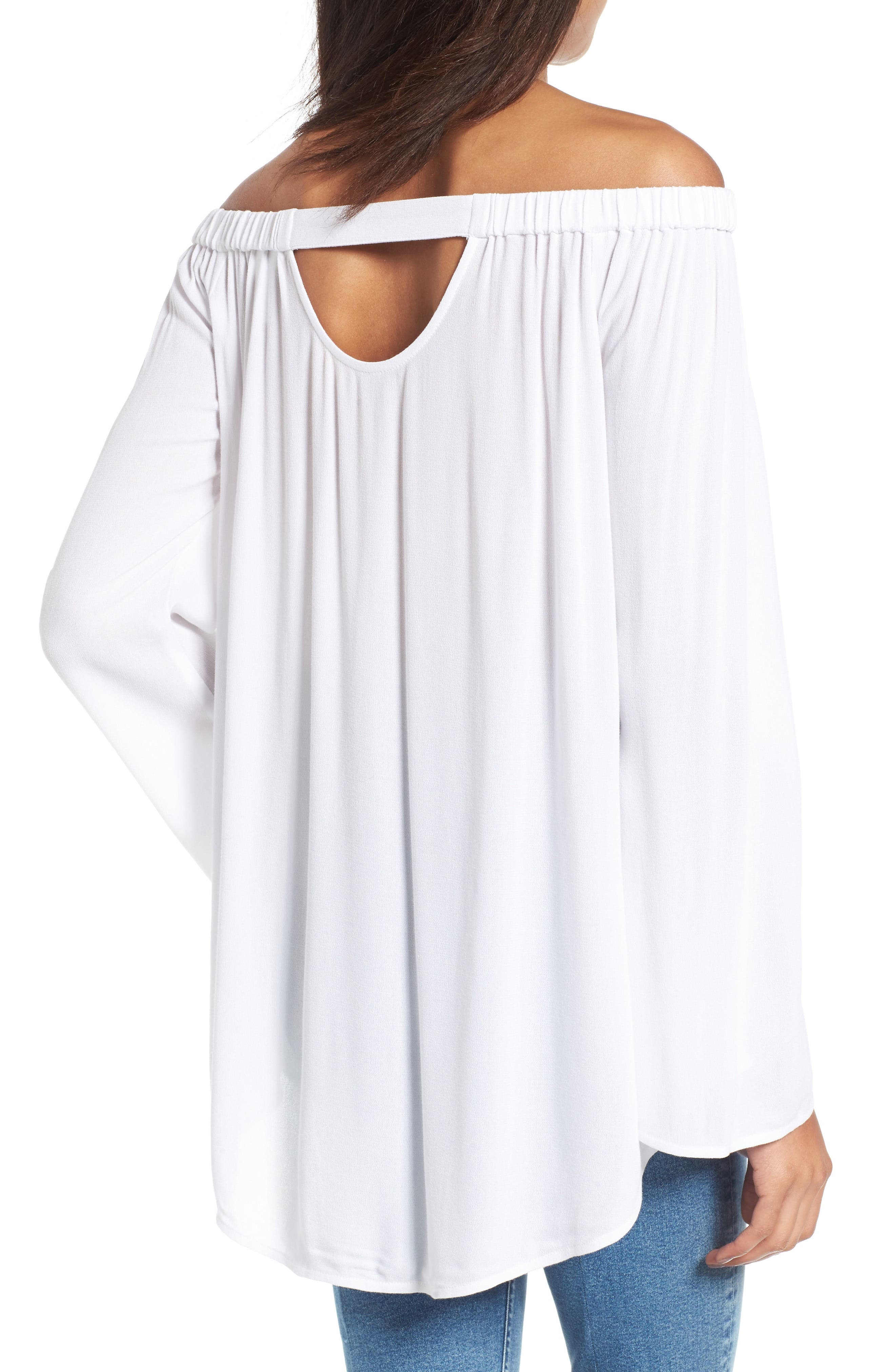 Off the Shoulder Tunic,                             Alternate thumbnail 11, color,