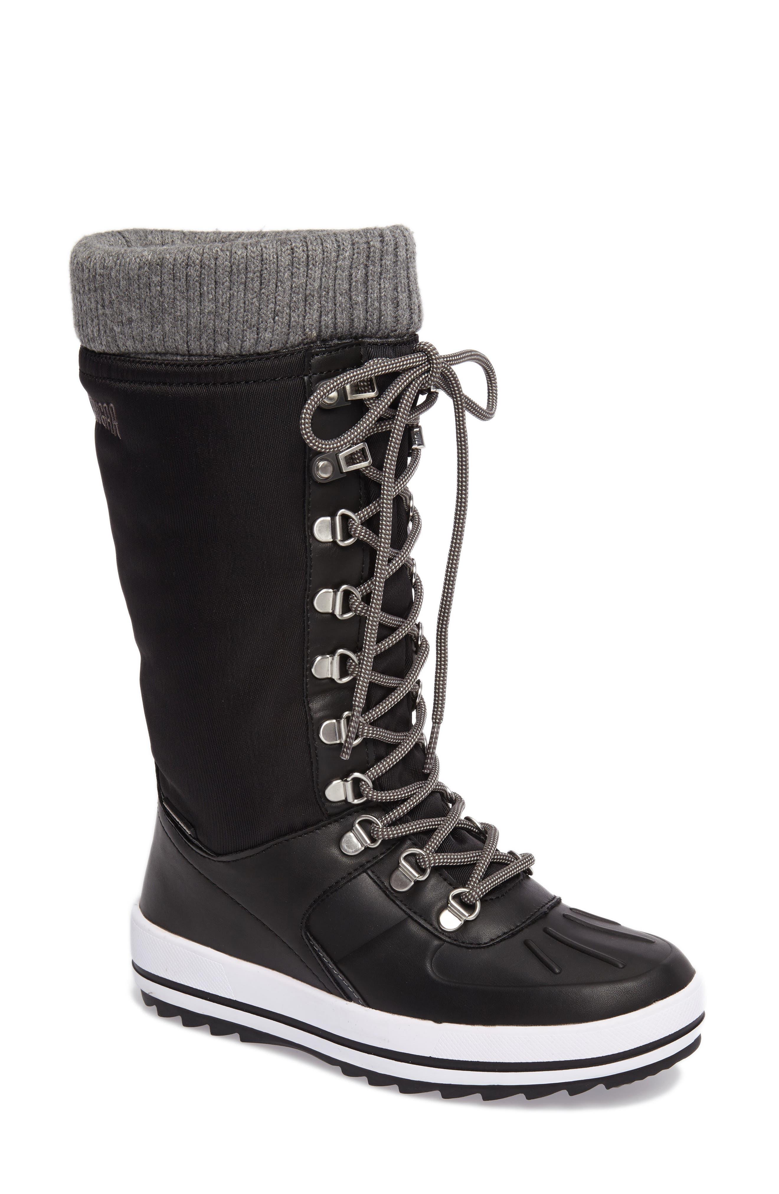 Vancouver Waterproof Winter Boot,                         Main,                         color, BLACK