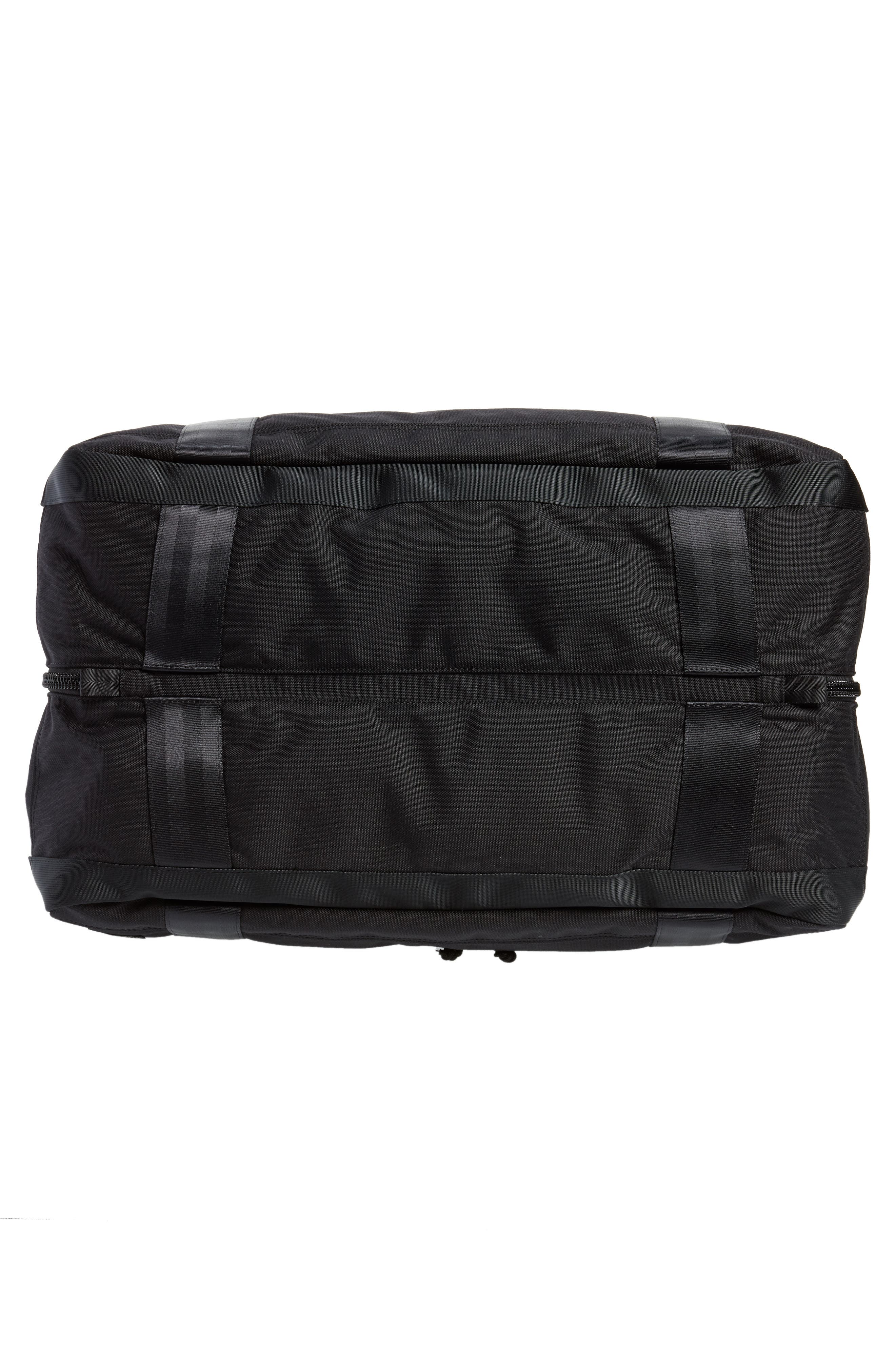 Porter-Yoshida & Co. Boothpack Convertible Duffel Bag,                             Alternate thumbnail 7, color,                             BLACK