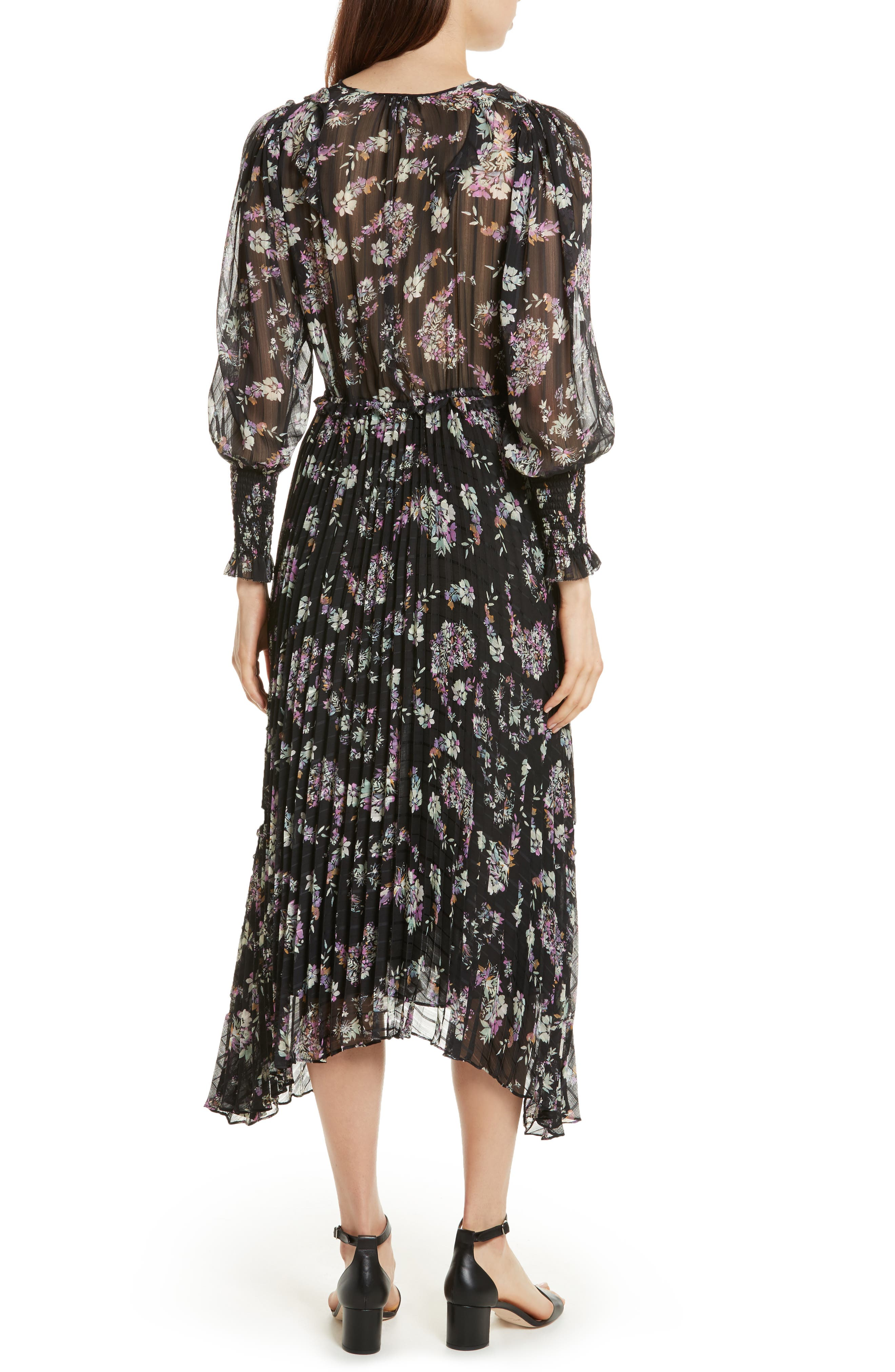 Jewel Paisley Dress,                             Alternate thumbnail 2, color,                             014