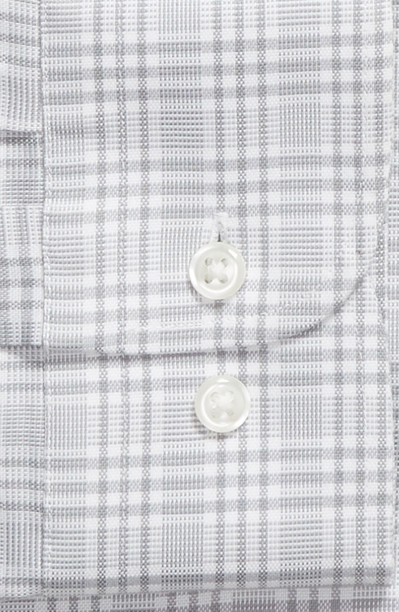 Smartcare<sup>™</sup> Traditional Fit Plaid Dress Shirt,                             Alternate thumbnail 6, color,                             050
