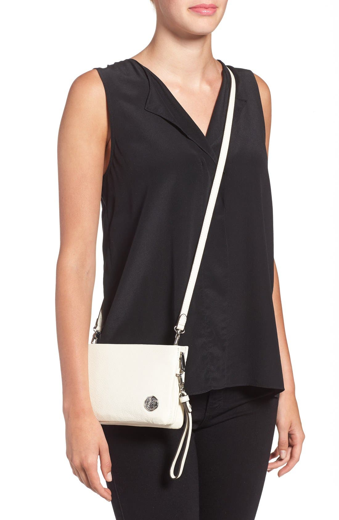 'Cami' Leather Crossbody Bag,                             Alternate thumbnail 43, color,