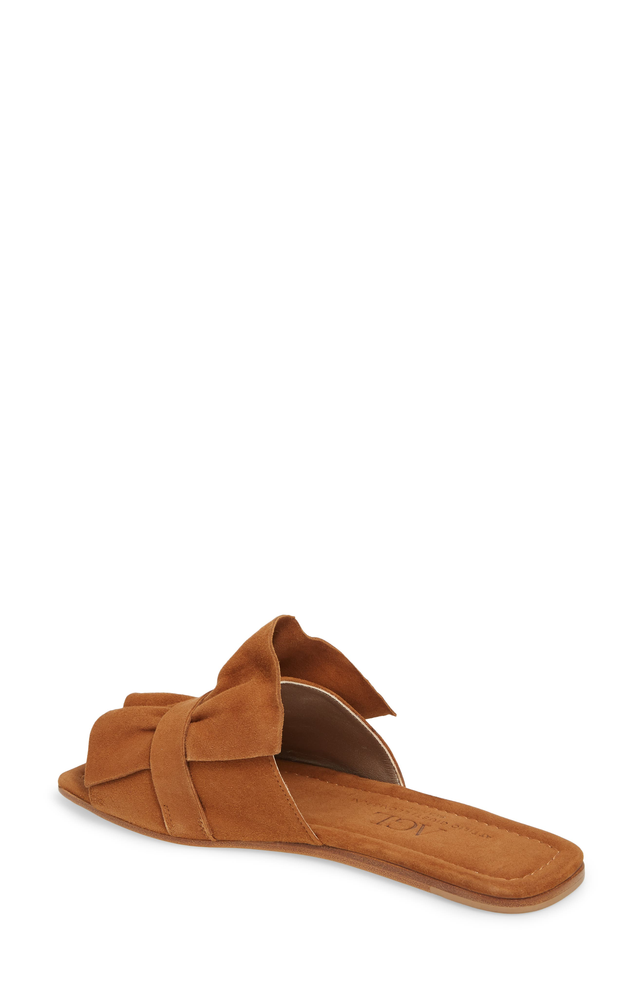 Ruched Slide Sandal,                             Alternate thumbnail 2, color,                             245