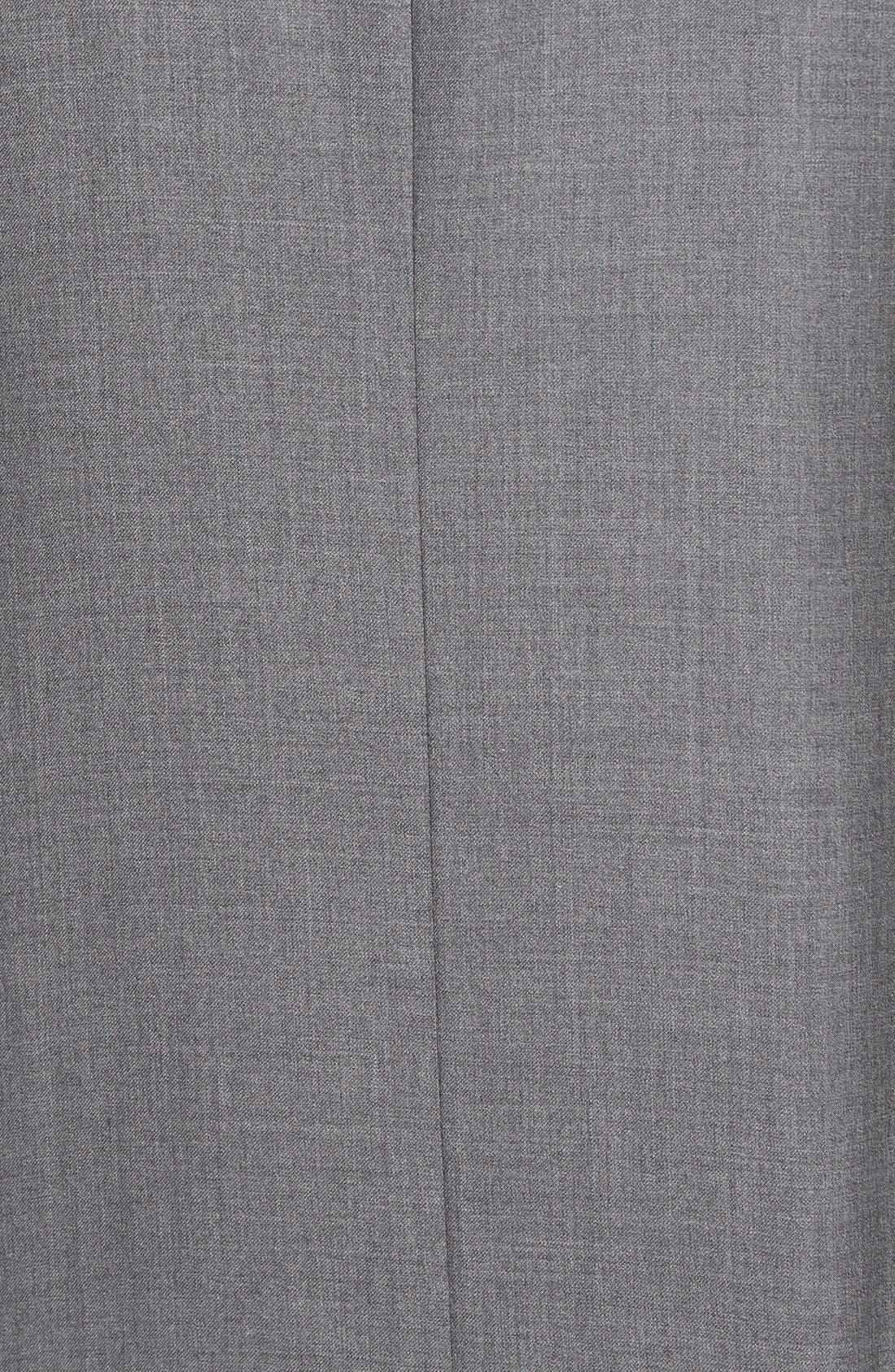 Espada Trim Fit Wool Blazer,                             Alternate thumbnail 8, color,                             030
