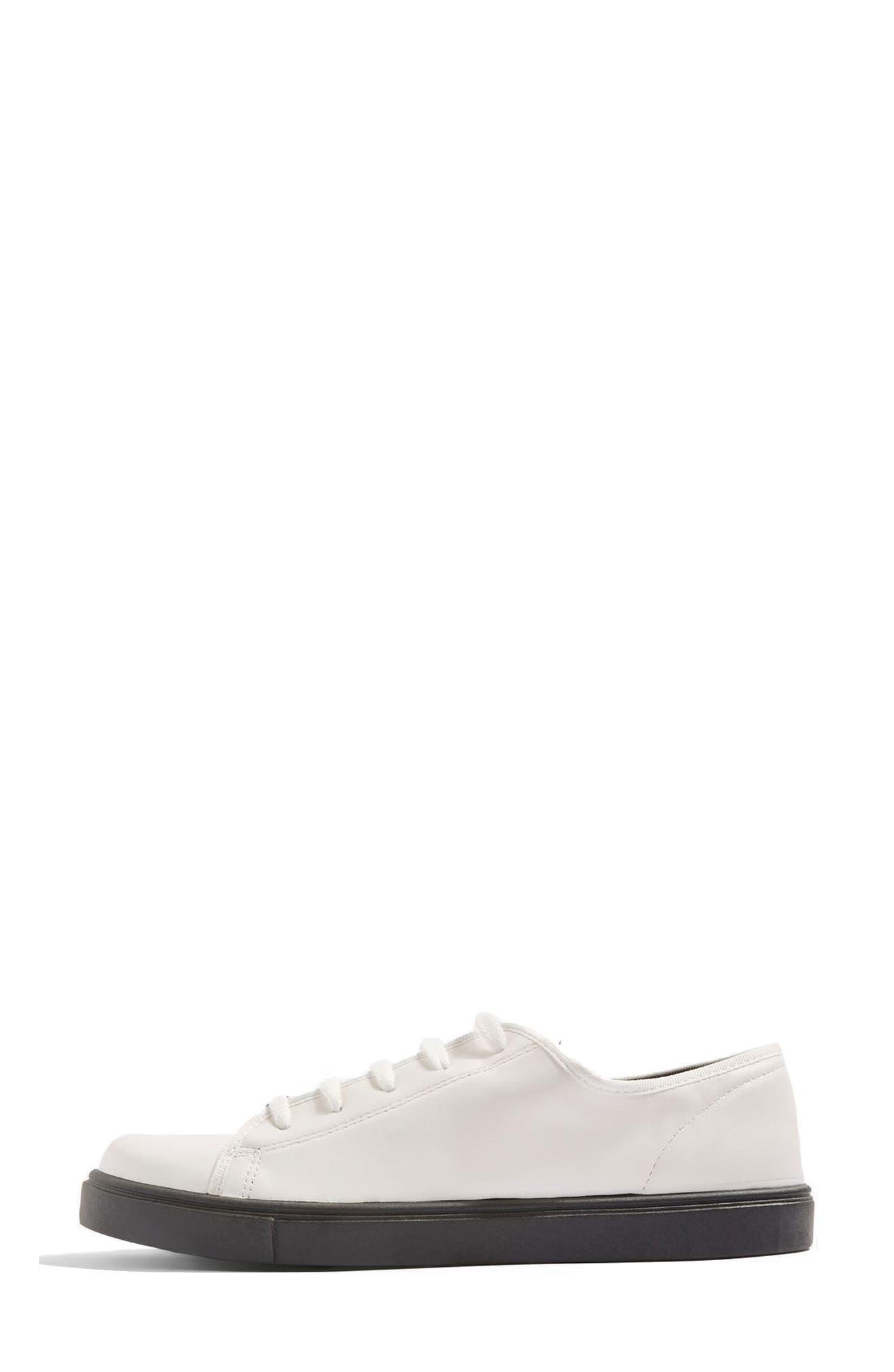 Crush Waterproof Contrast Sole Sneaker,                             Alternate thumbnail 2, color,                             001