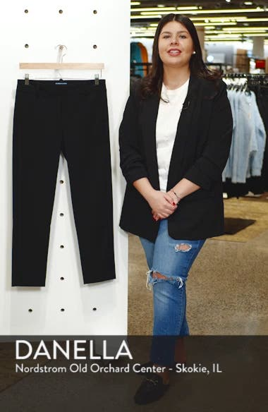 2-Way Stretch Twill Straight Pants, sales video thumbnail