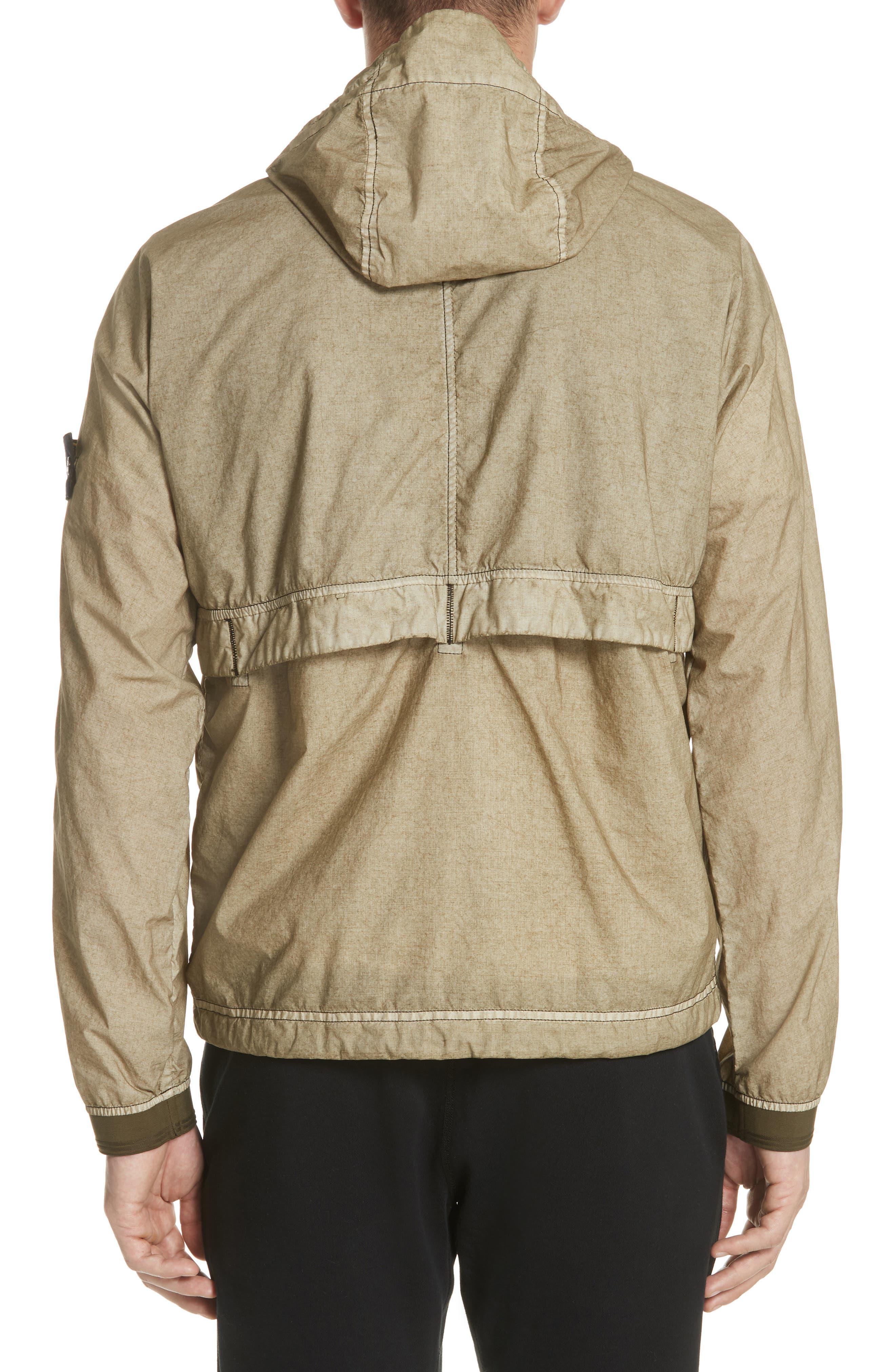Poplin Hooded Jacket,                             Alternate thumbnail 4, color,