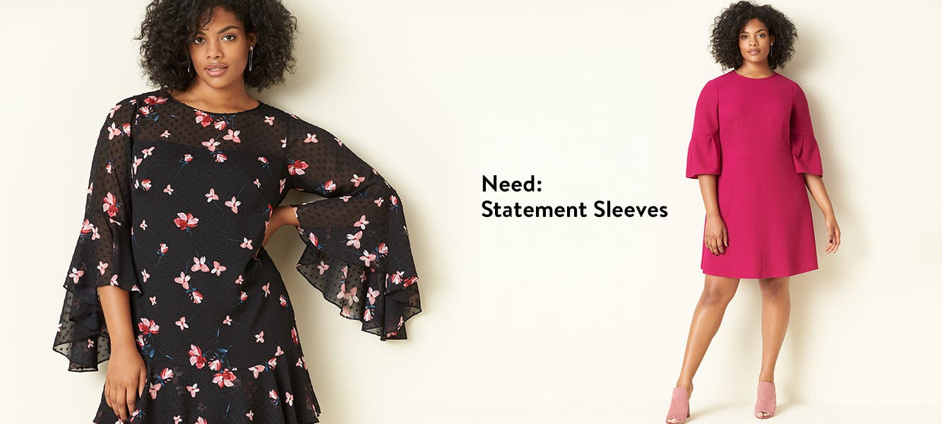 Statement sleeves are trending.