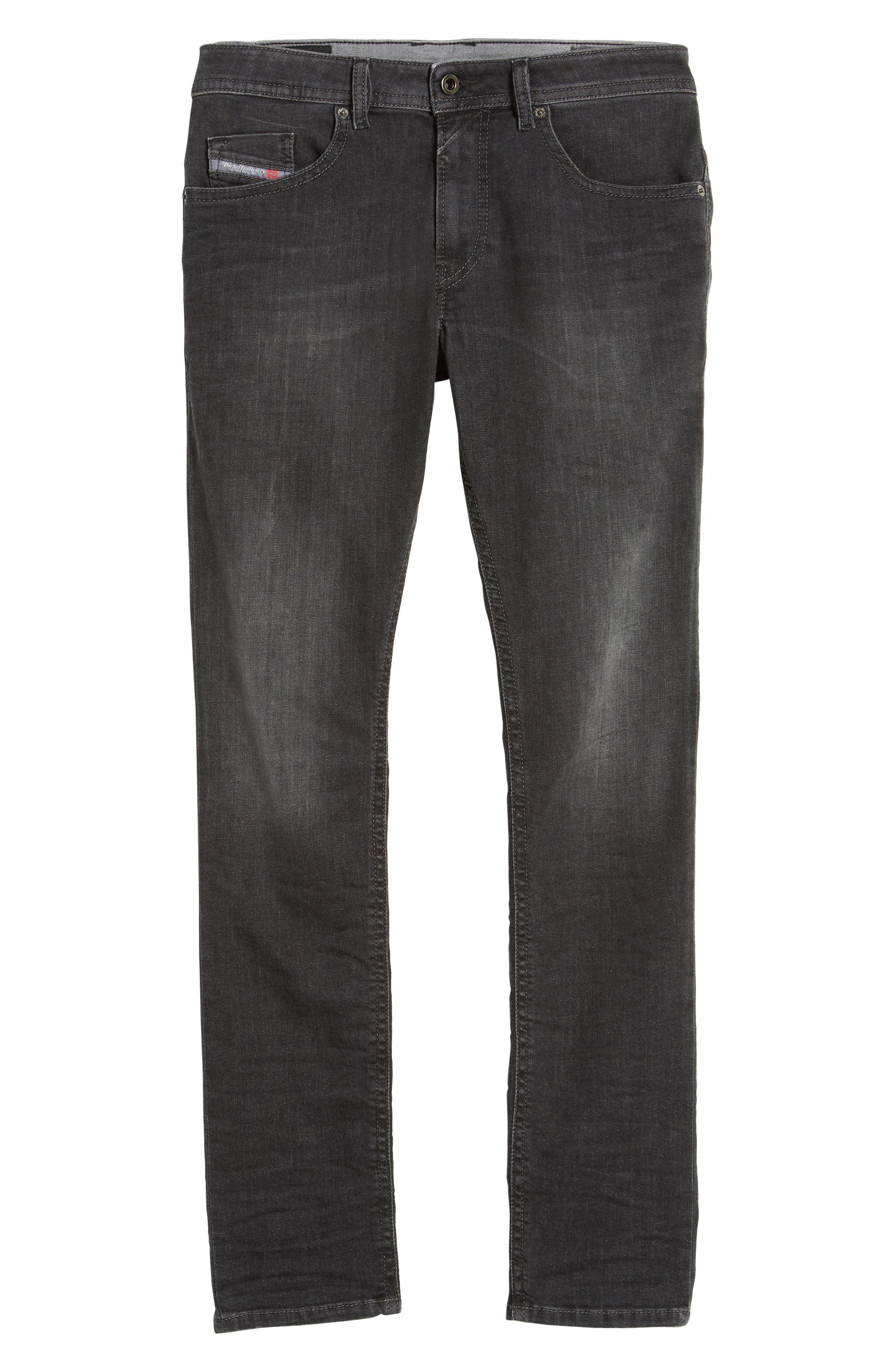 Thommer Slim Fit Jeans,                             Alternate thumbnail 6, color,                             001