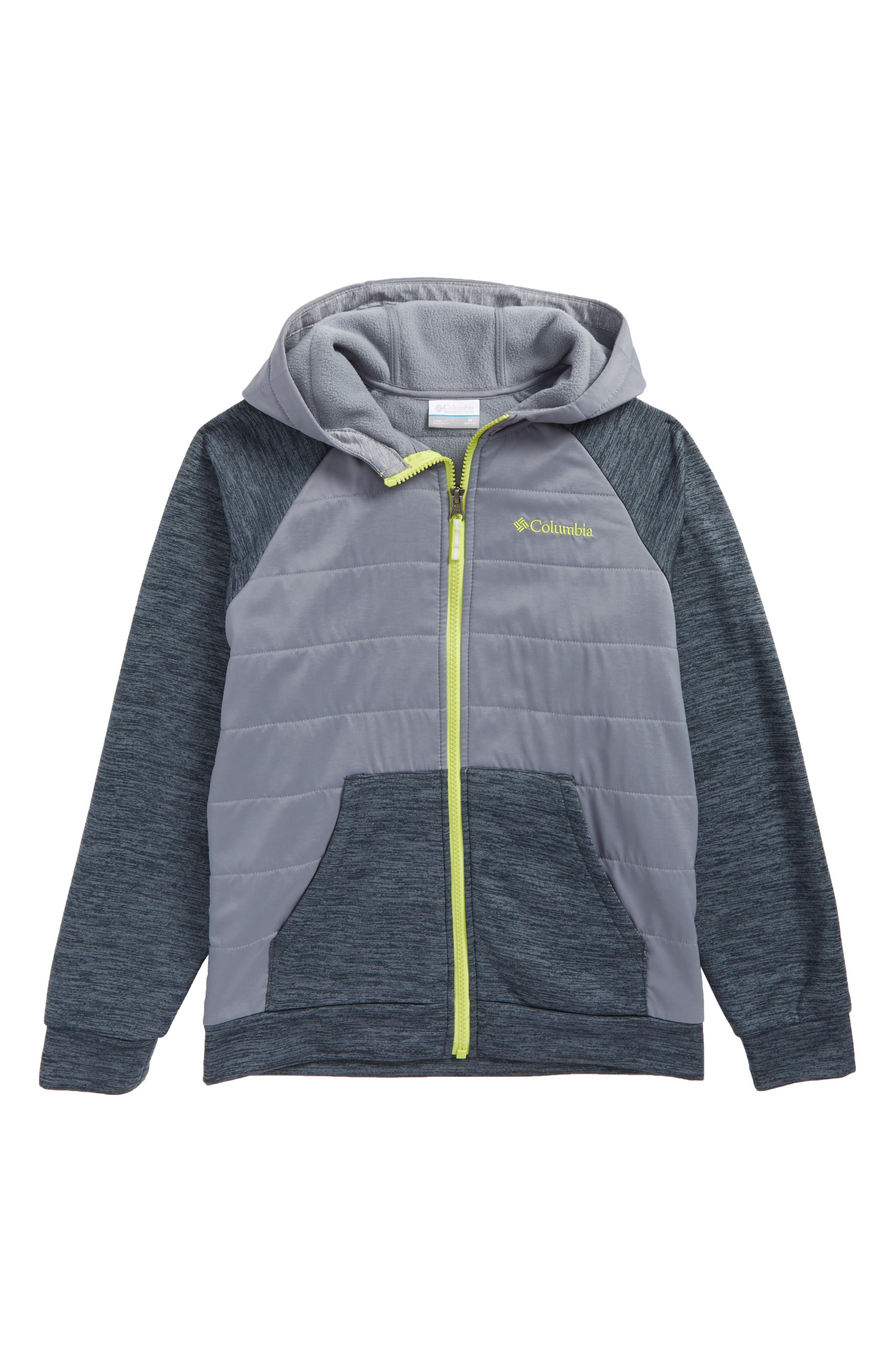 S'more Adventure Water Resistant Hybrid Hoodie,                             Main thumbnail 1, color,                             435