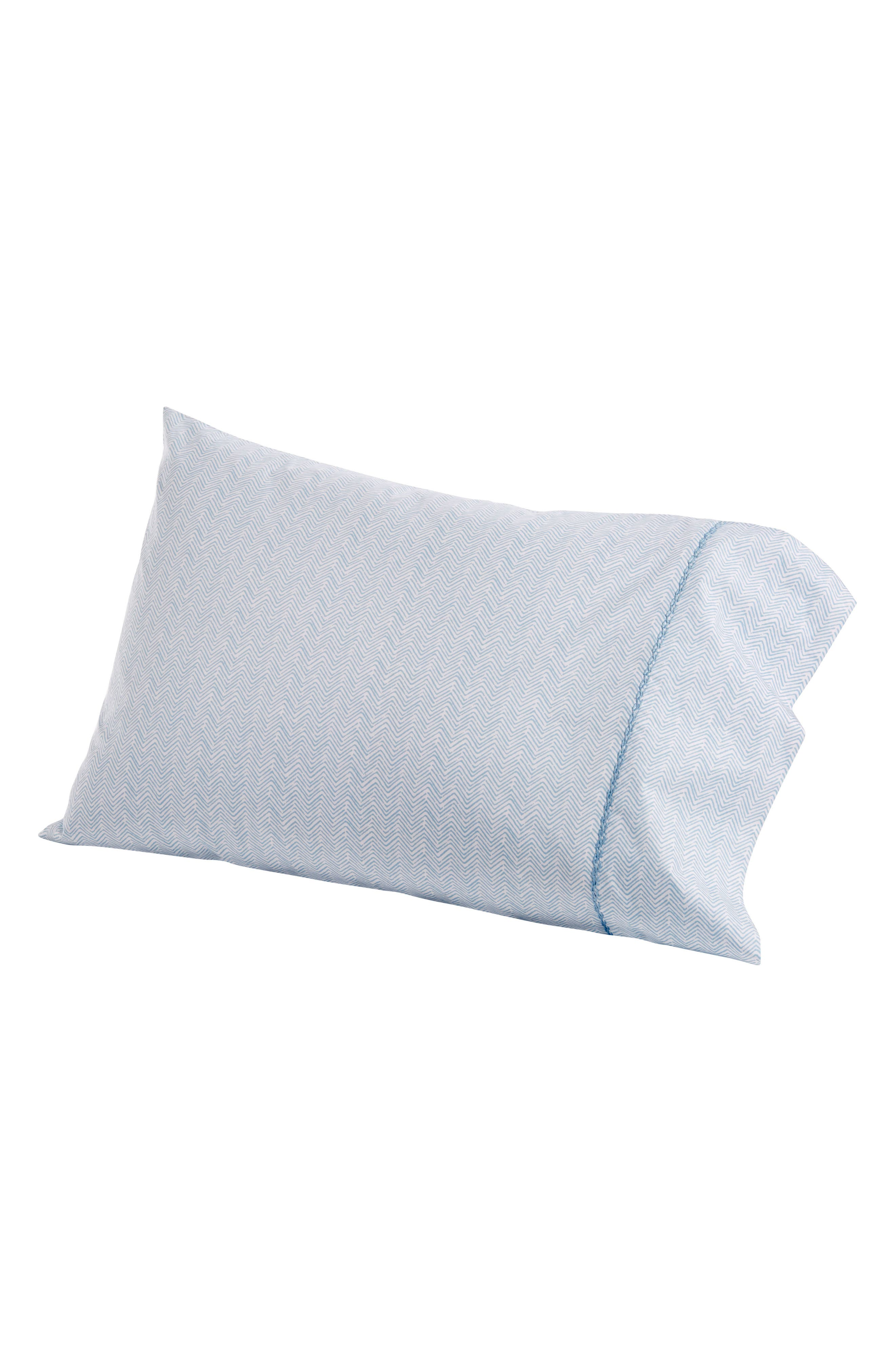 Chevron Combed Cotton Pillowcases,                         Main,                         color, 400