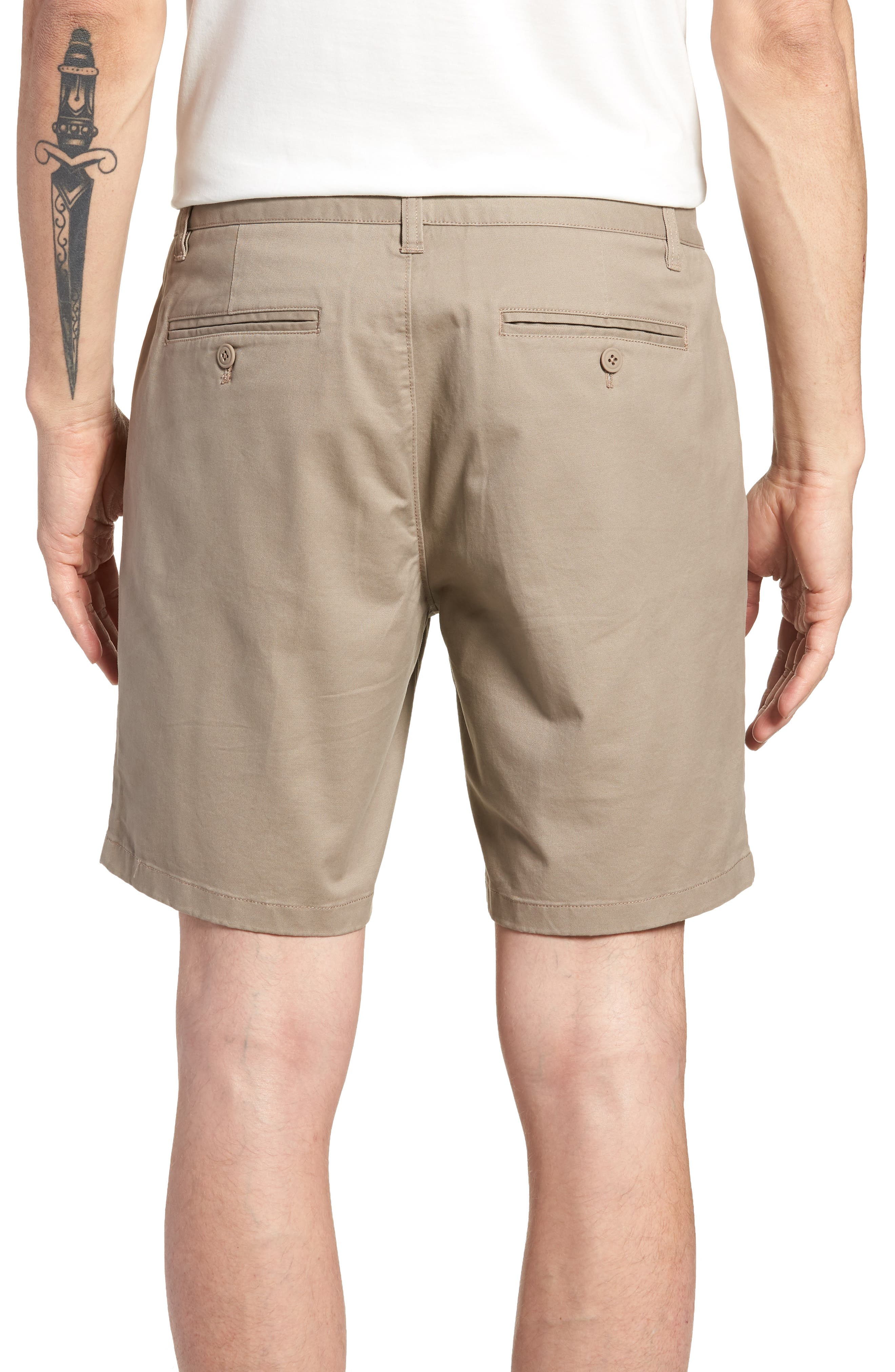 Stretch Chino 7-Inch Shorts,                             Alternate thumbnail 14, color,