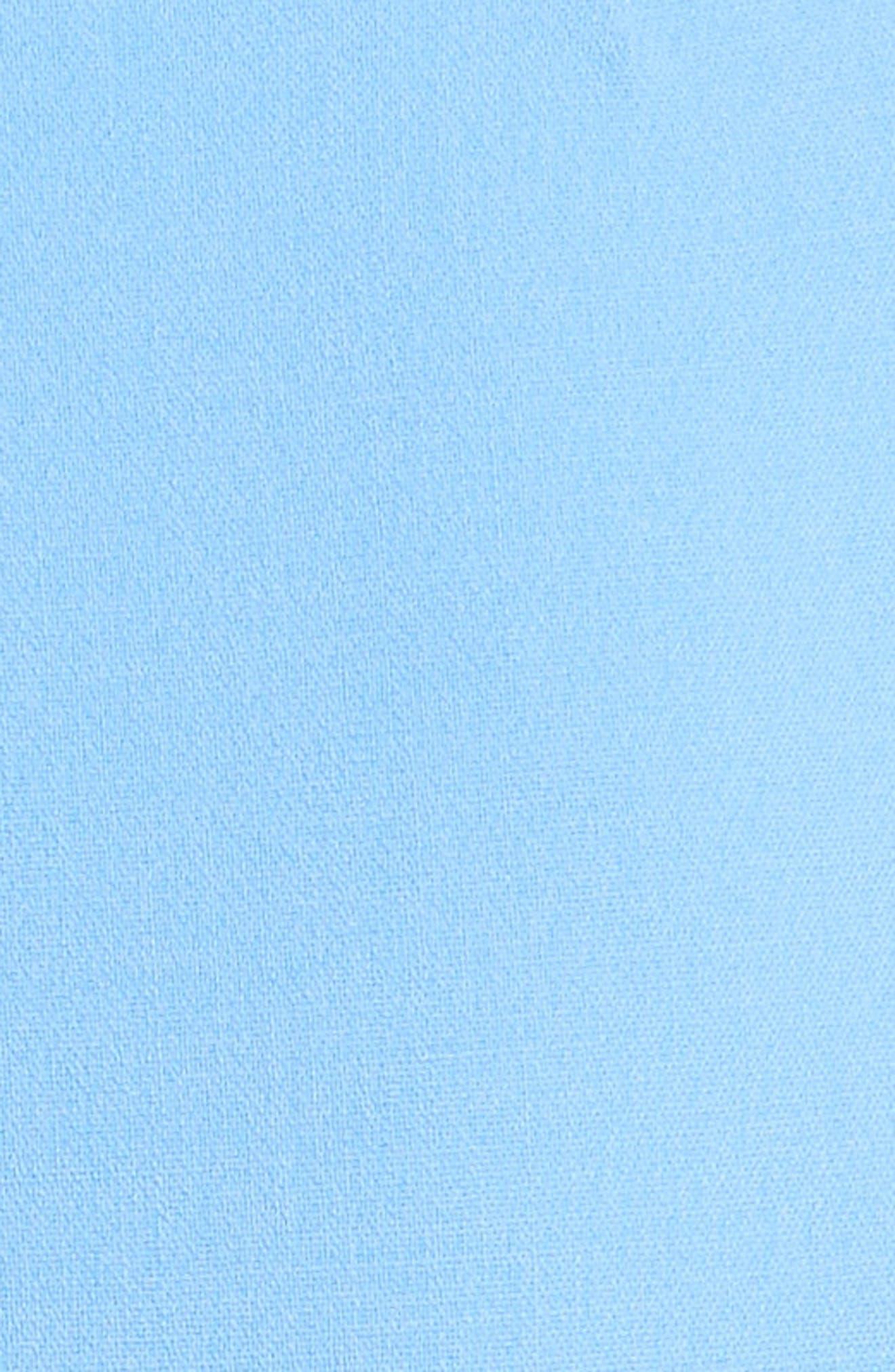 Stretch Wool Crepe Sheath Dress,                             Alternate thumbnail 6, color,                             495