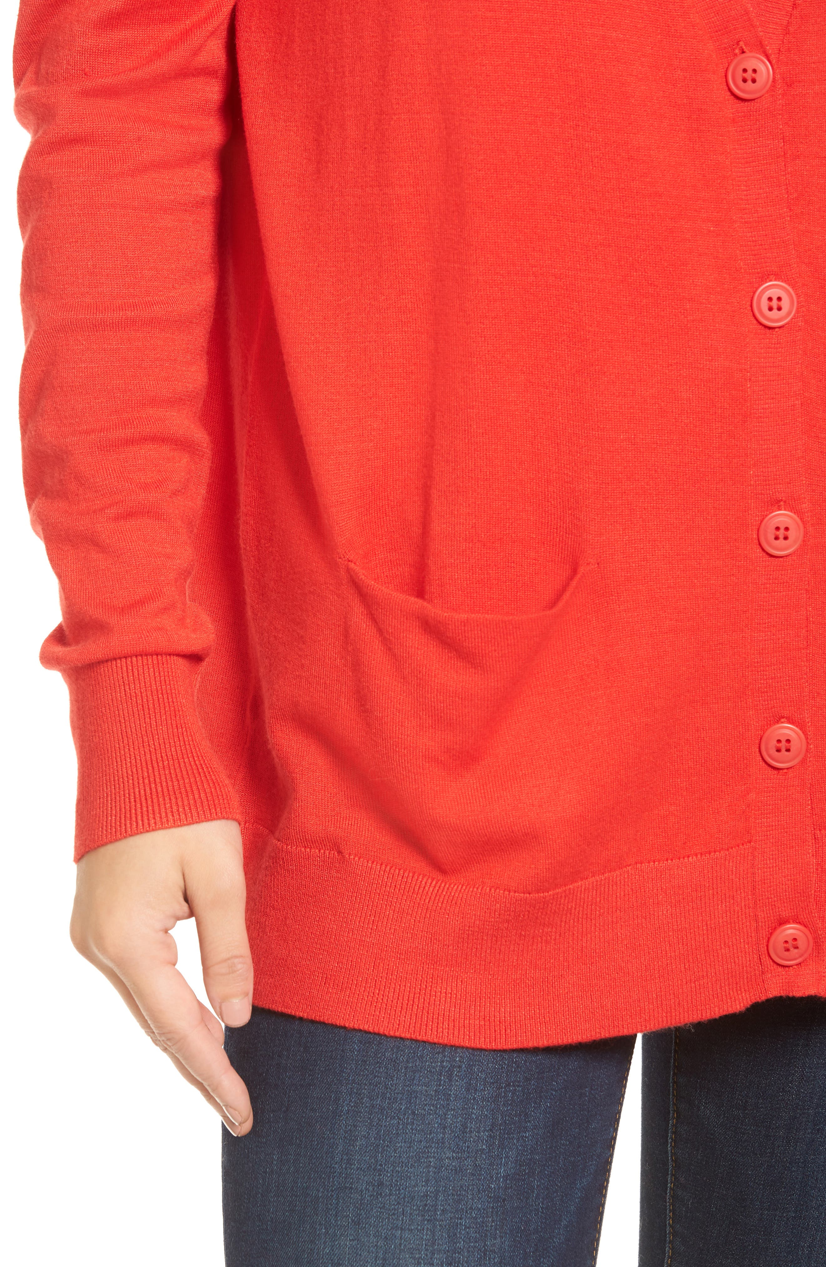 Relaxed Pocket Cardigan,                             Alternate thumbnail 35, color,