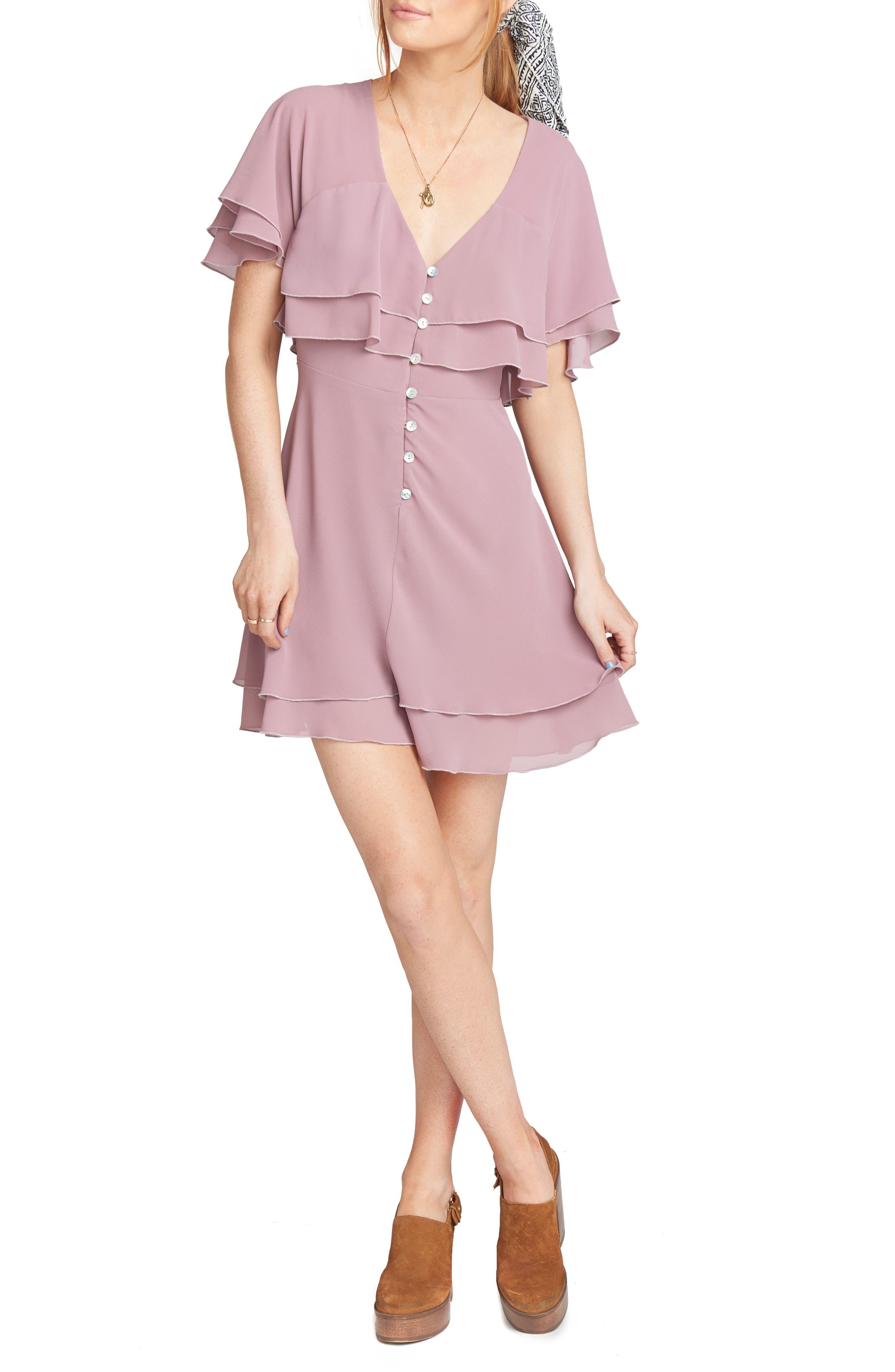 Show Me Your Mumu Chiffon Dress, Pink