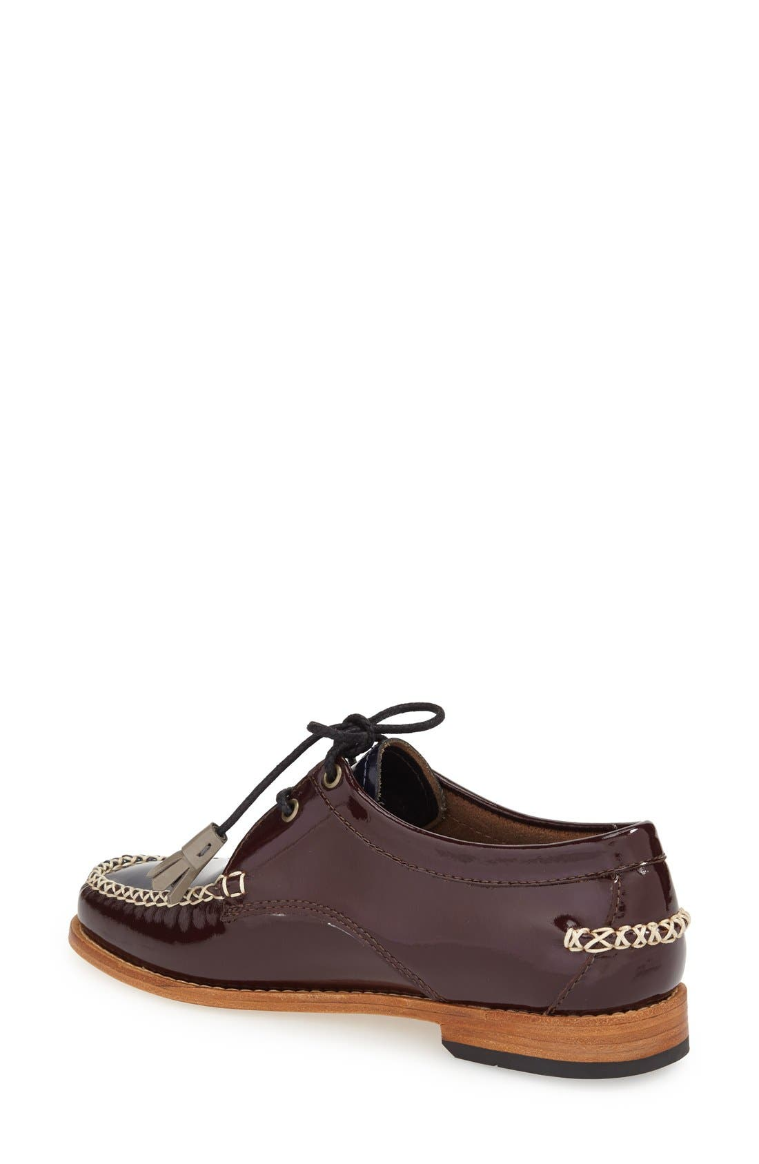 'Winnie' Leather Oxford,                             Alternate thumbnail 16, color,