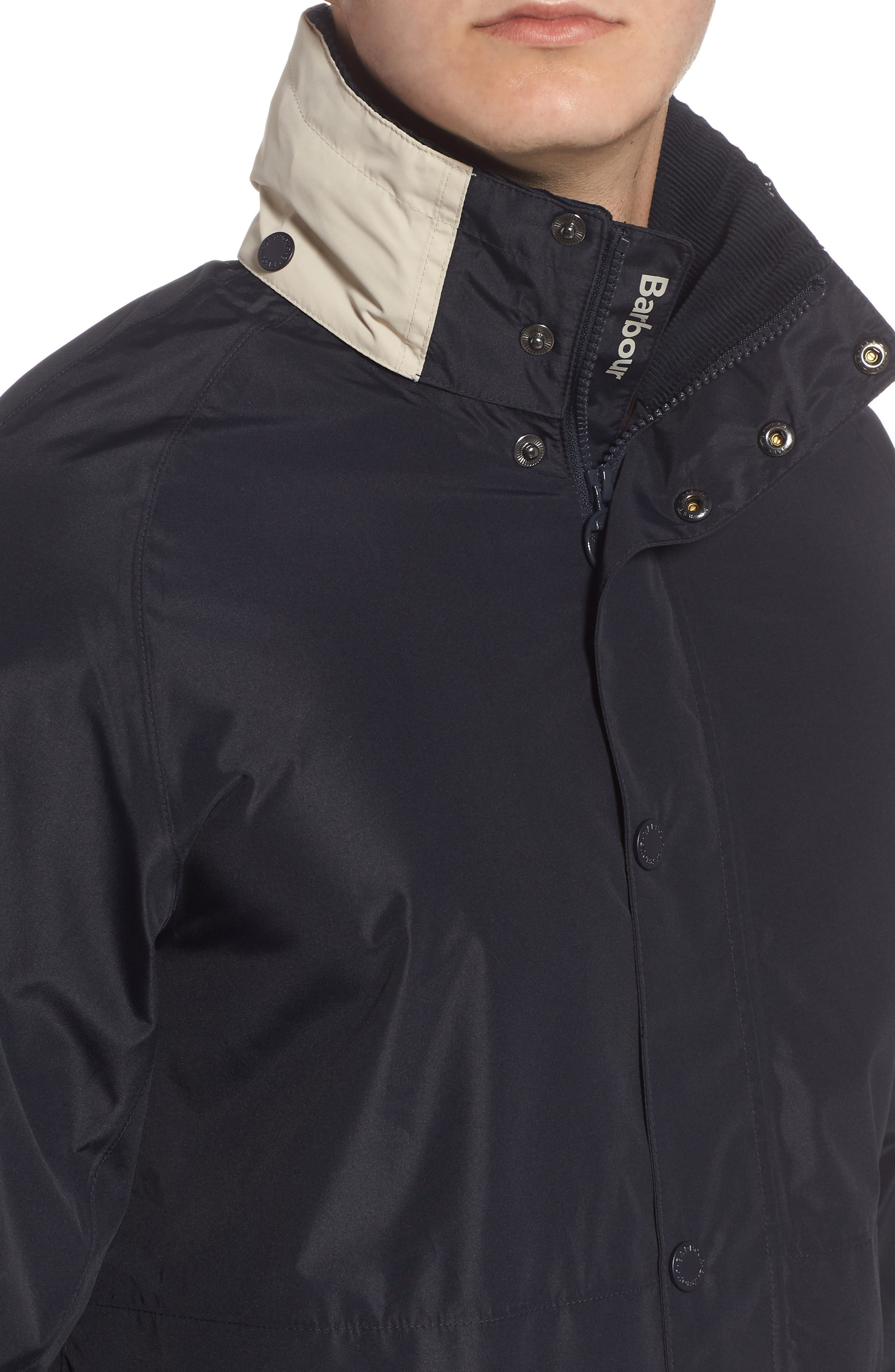 Nautical Dolan Waterproof Jacket,                             Alternate thumbnail 4, color,                             410