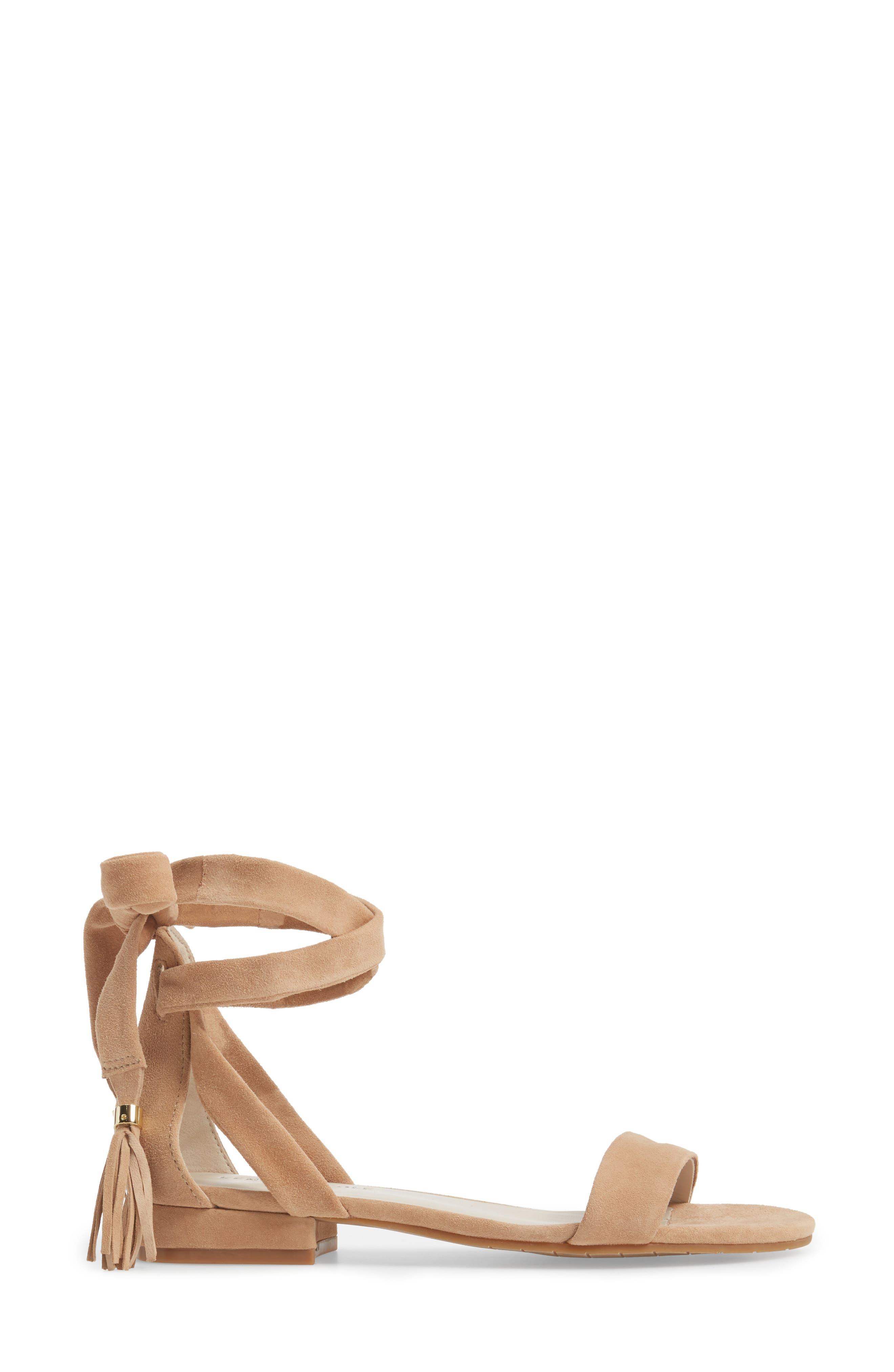 Valen Tassel Lace-Up Sandal,                             Alternate thumbnail 34, color,